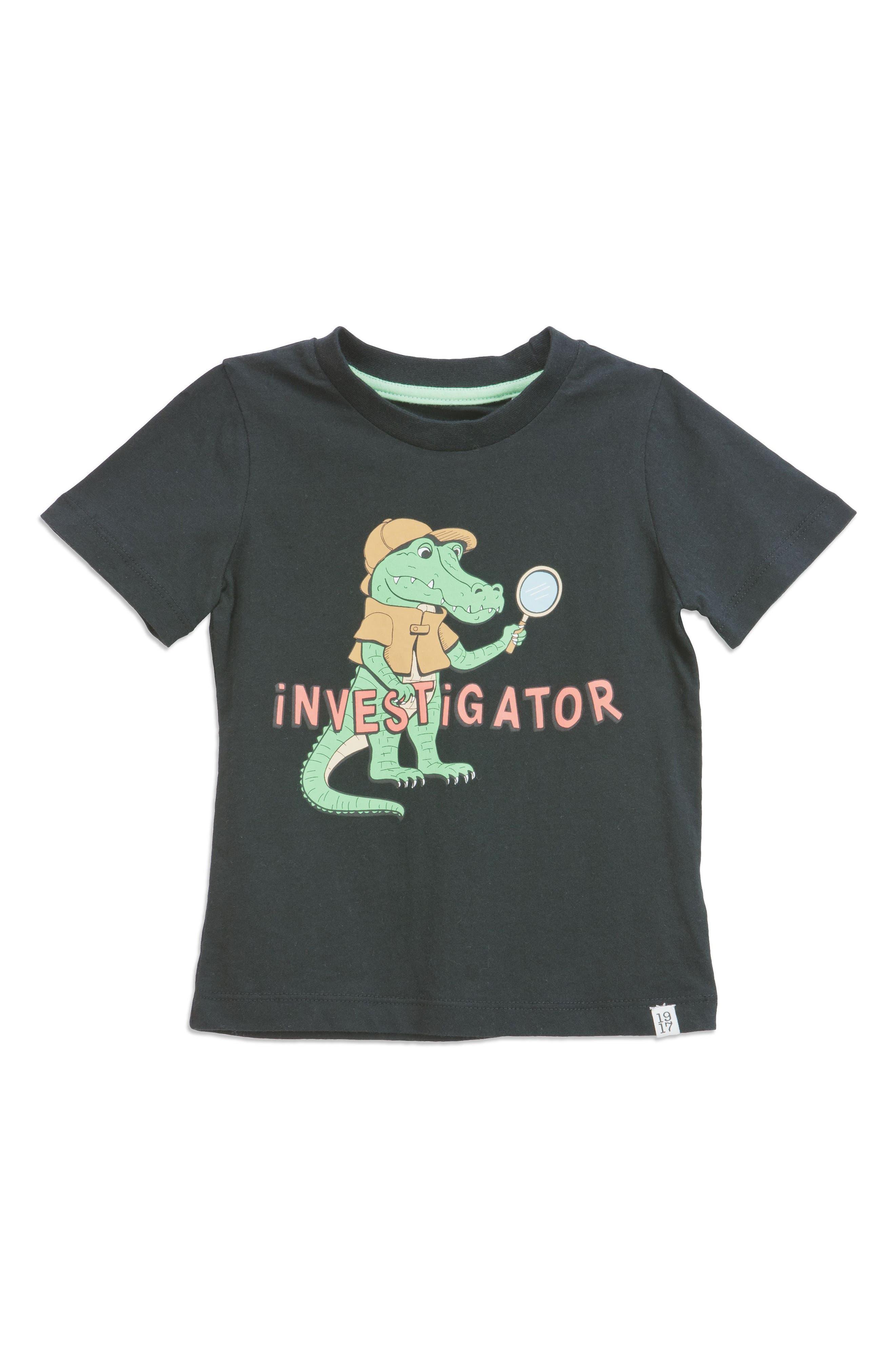Investigator T-Shirt,                             Main thumbnail 1, color,