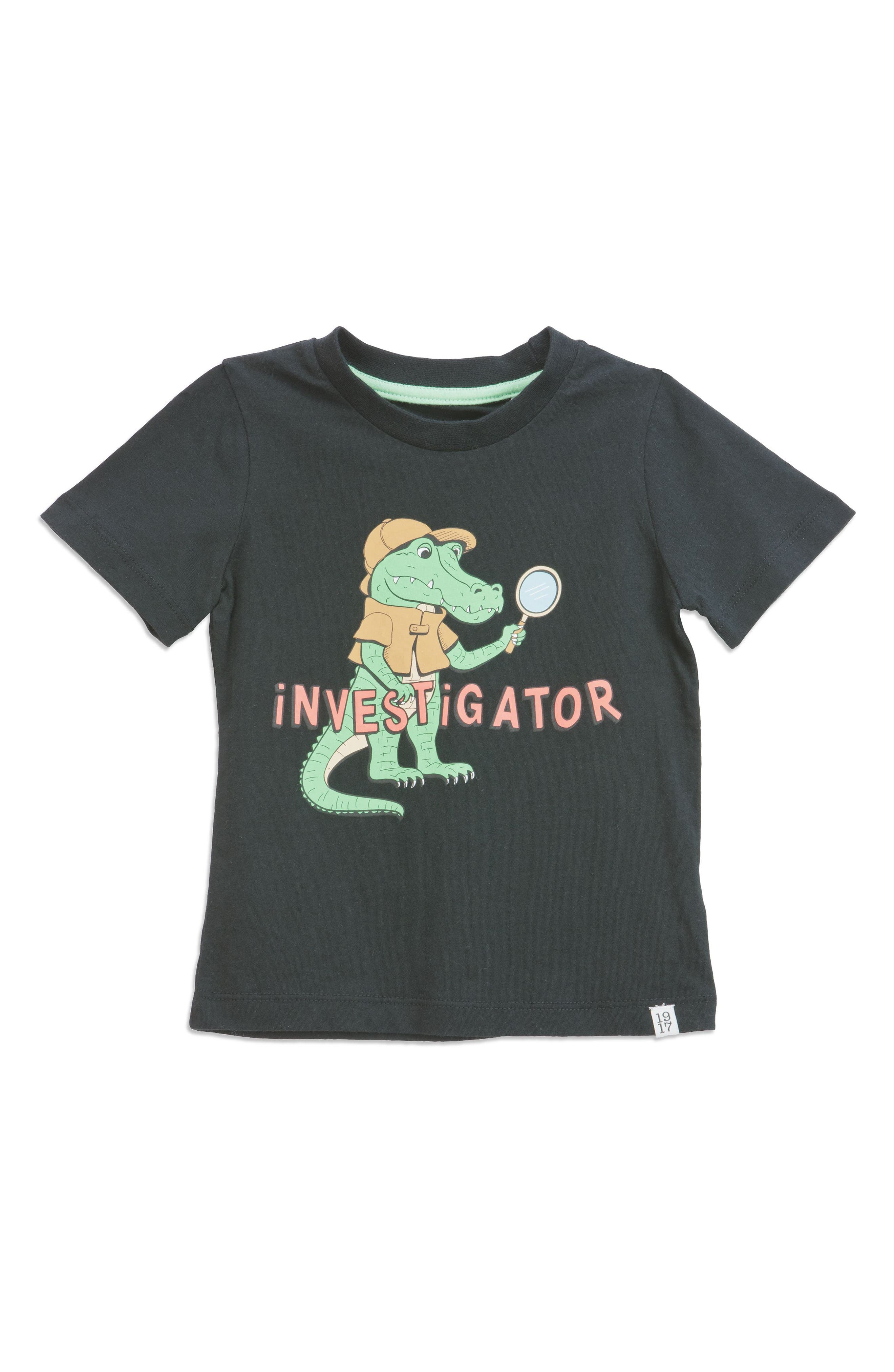 Investigator T-Shirt,                         Main,                         color,