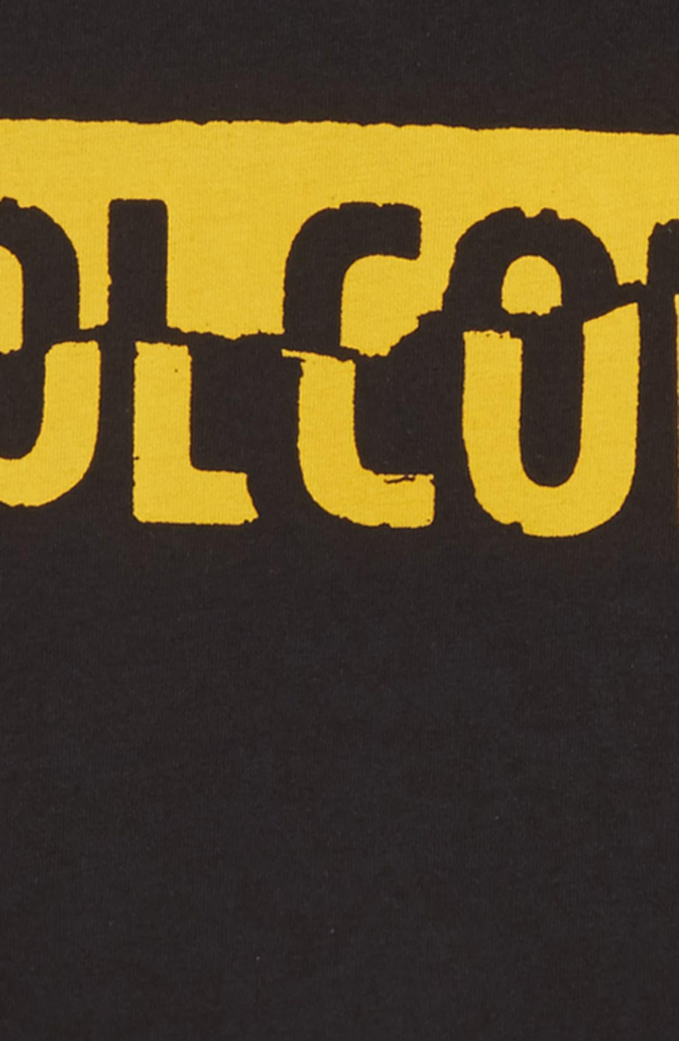 Fracture Organic Cotton T-Shirt,                             Alternate thumbnail 2, color,                             001