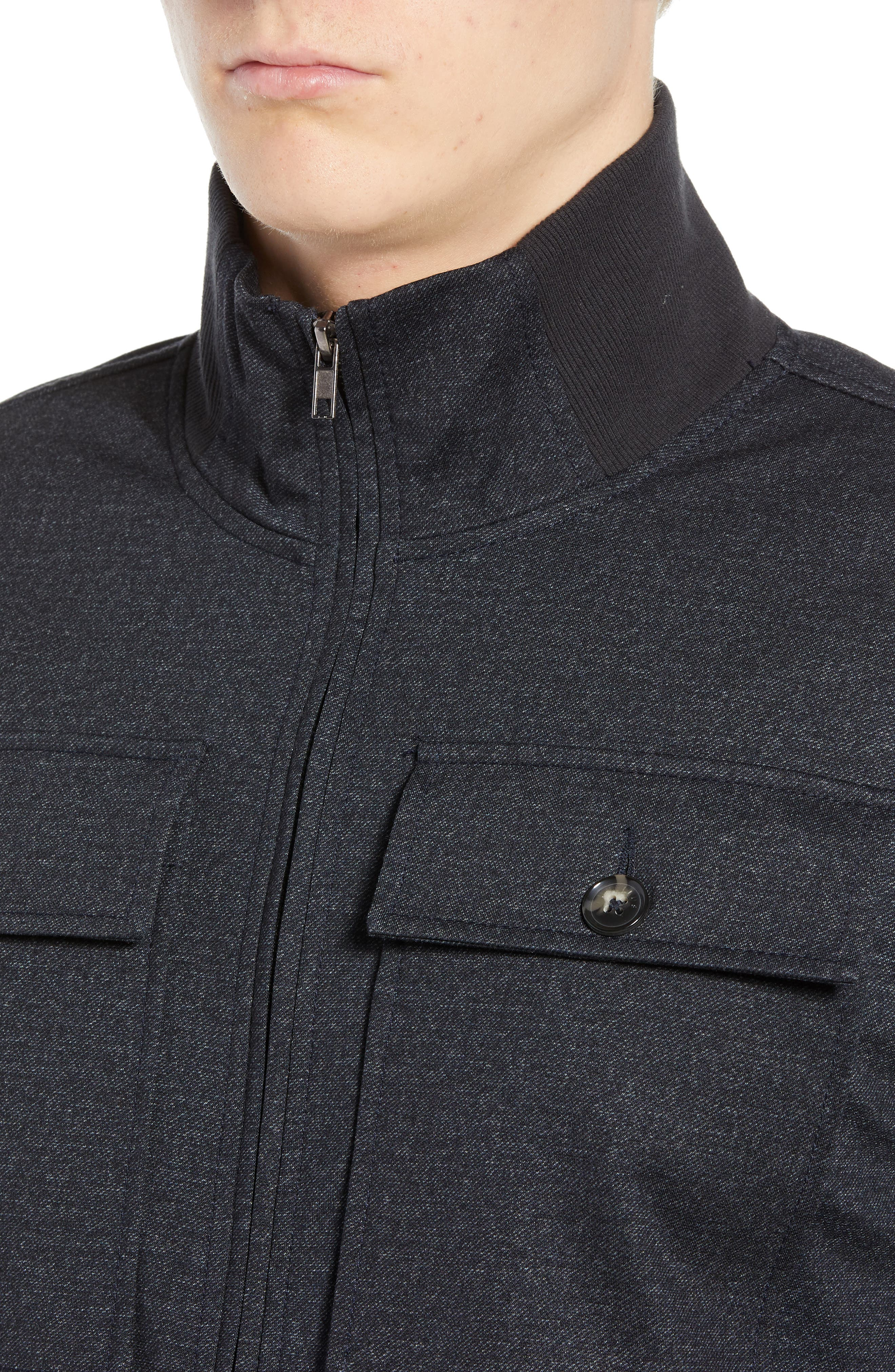 The Best 4-Pocket Jacket,                             Alternate thumbnail 4, color,                             NAVY