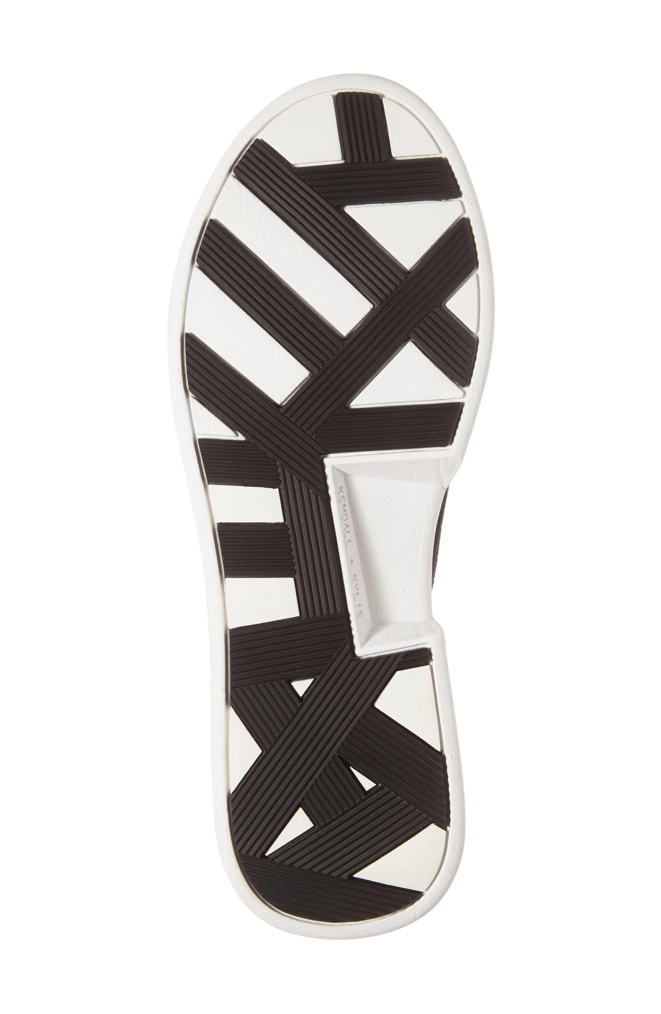 Brandy Woven Sneaker,                             Alternate thumbnail 4, color,                             001