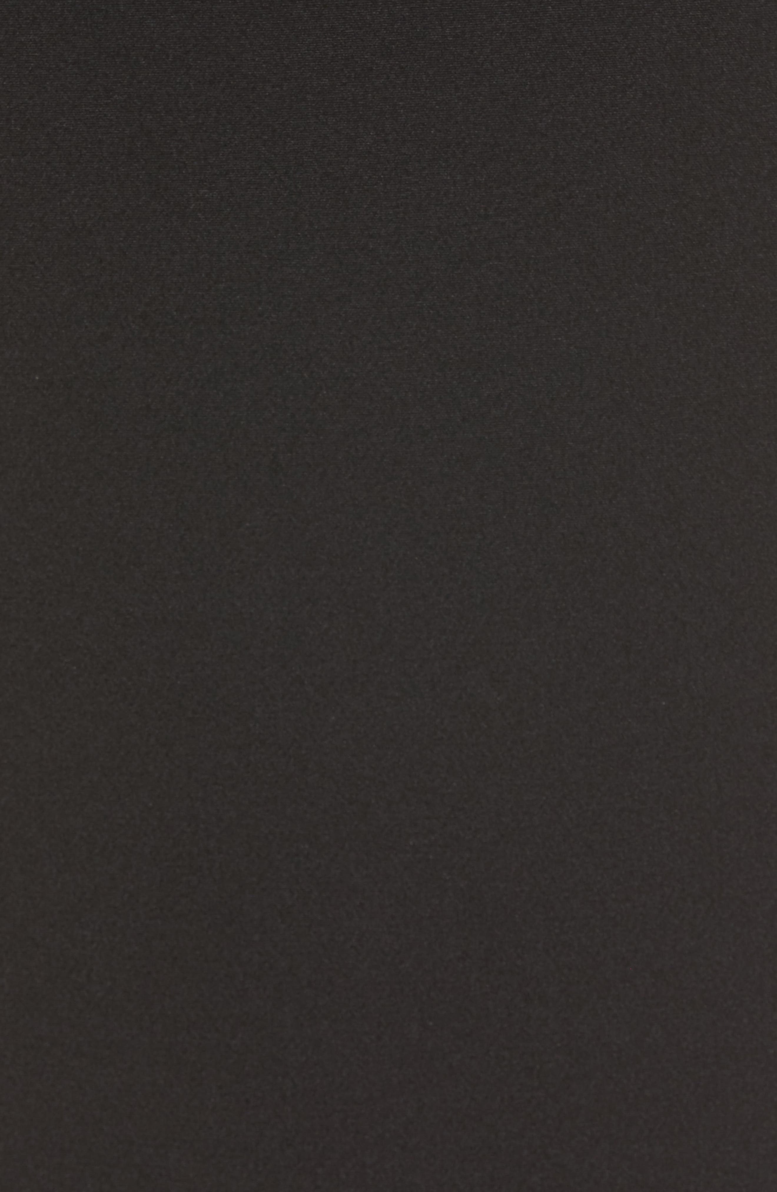 Ruffle Detail Pencil Skirt,                             Alternate thumbnail 5, color,                             001
