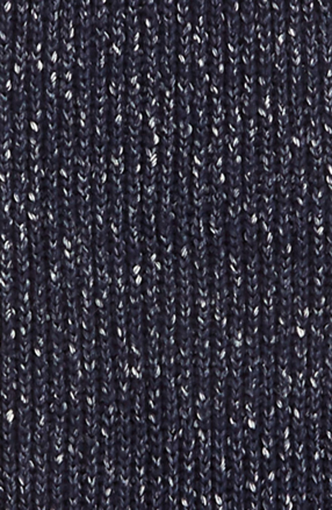 denim muffler,                             Alternate thumbnail 4, color,                             DENIM