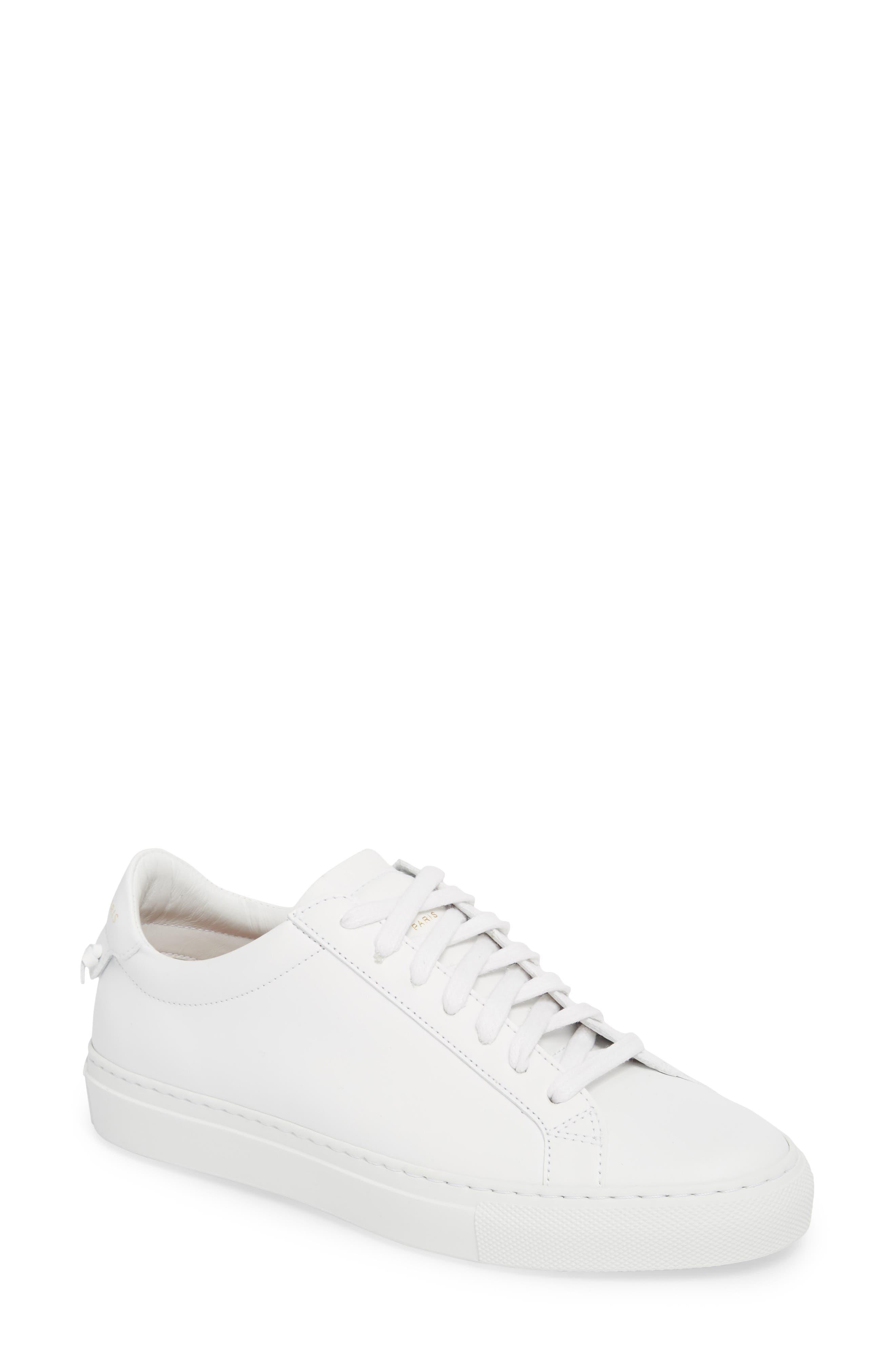 Low Top Sneaker,                         Main,                         color, OPTIC WHITE