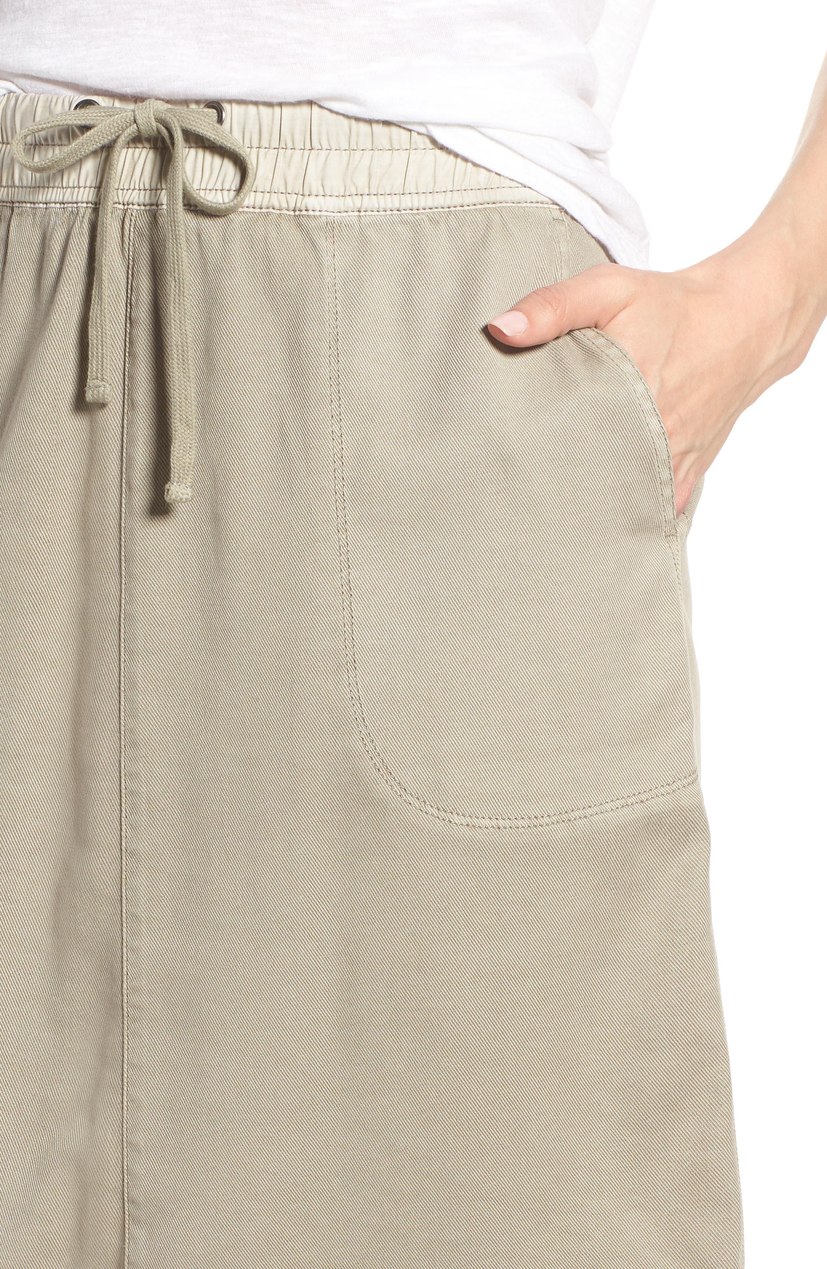 Open Road Skirt,                             Alternate thumbnail 4, color,                             FLAX