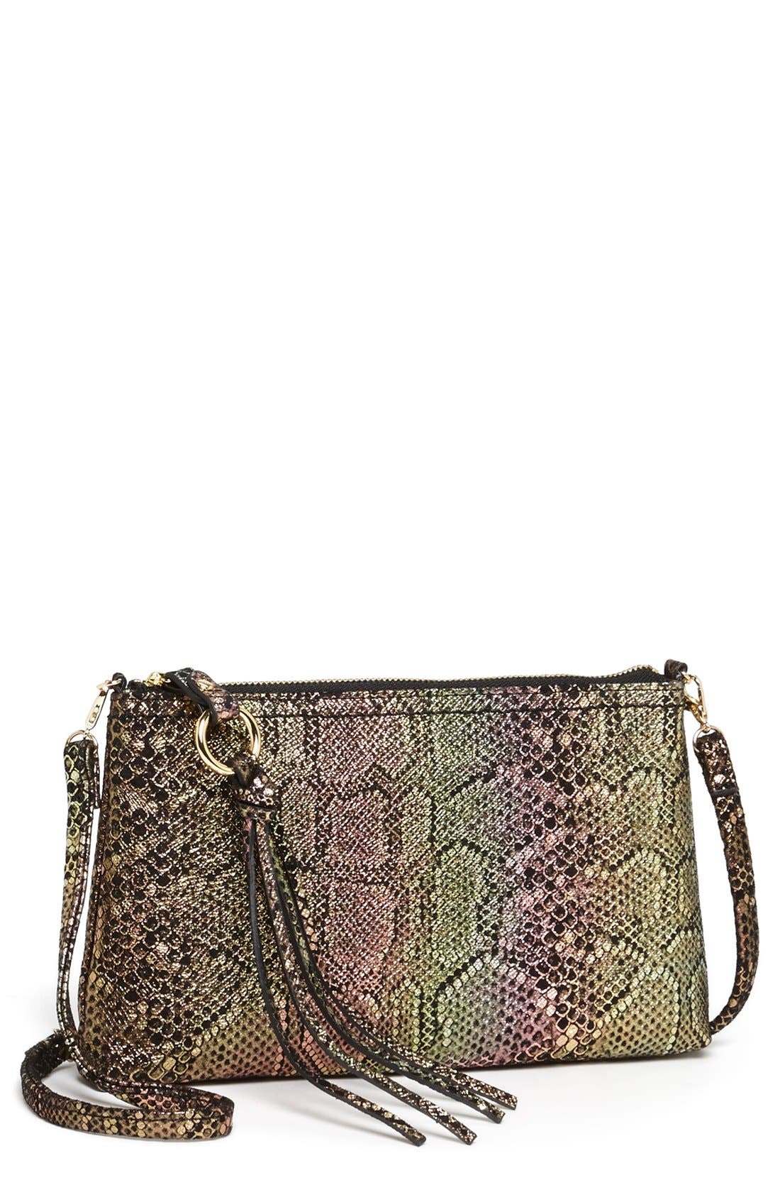 'Darcy' Leather Crossbody Bag,                             Main thumbnail 29, color,