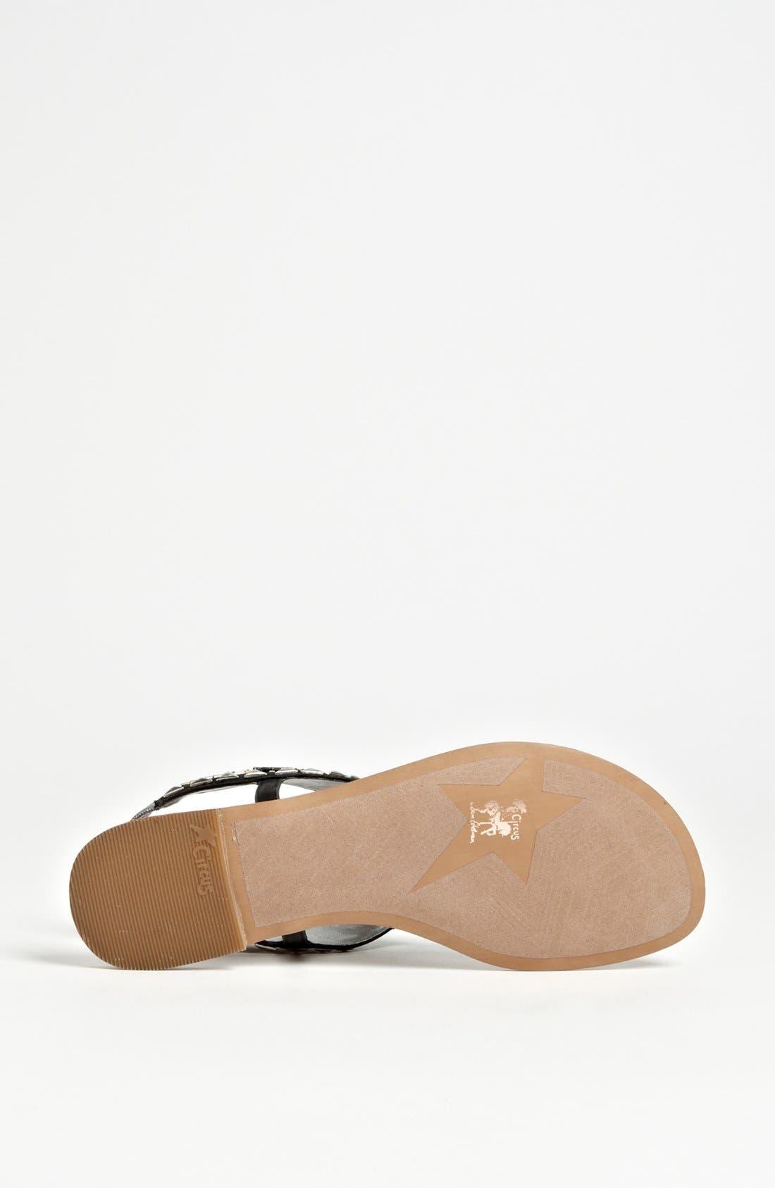 'Brina' Sandal,                             Alternate thumbnail 4, color,                             001