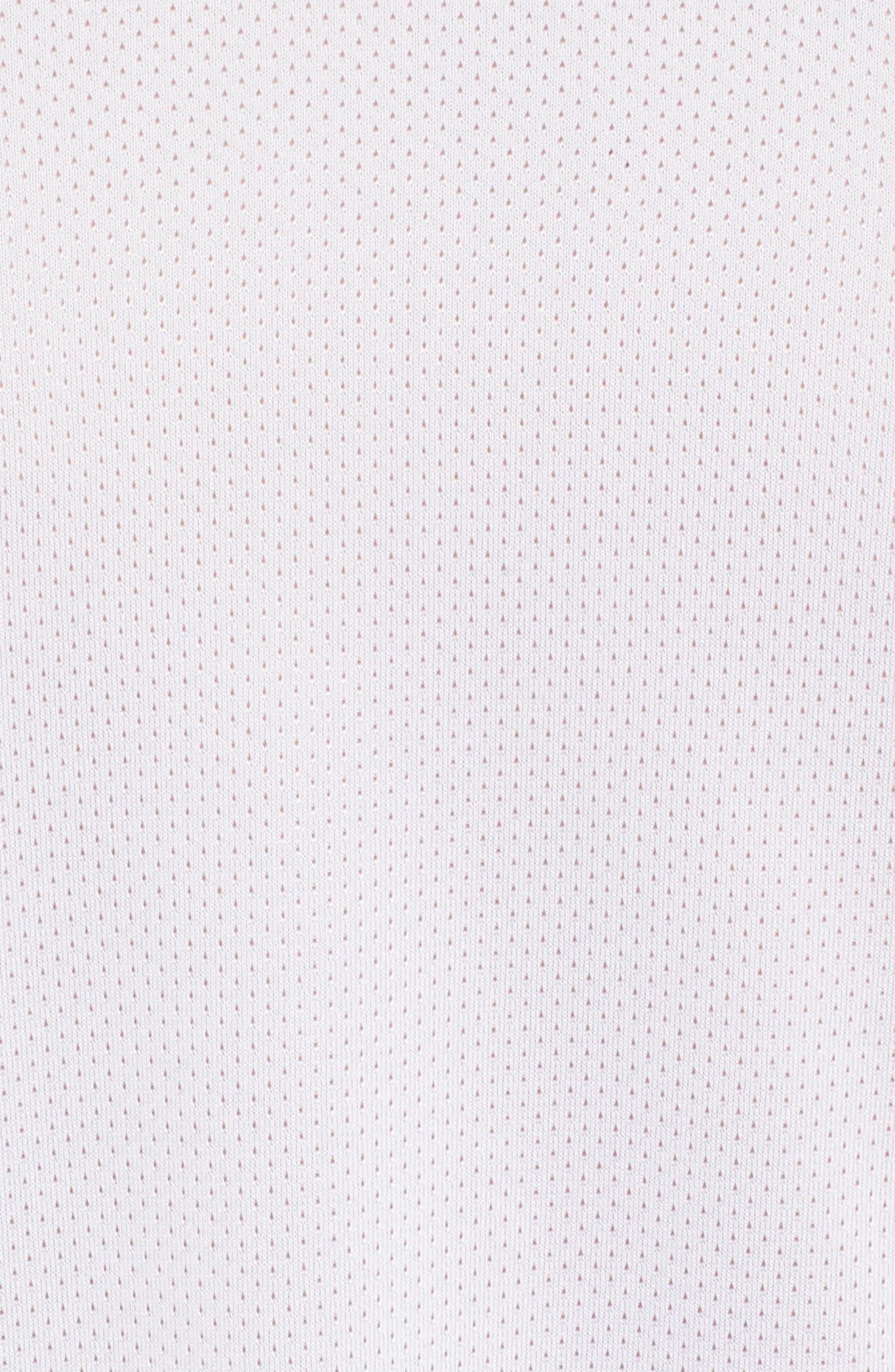 MK1 Dash Print Crewneck T-Shirt,                             Alternate thumbnail 5, color,                             WHITE / ZINC GREH / GRAPHITE