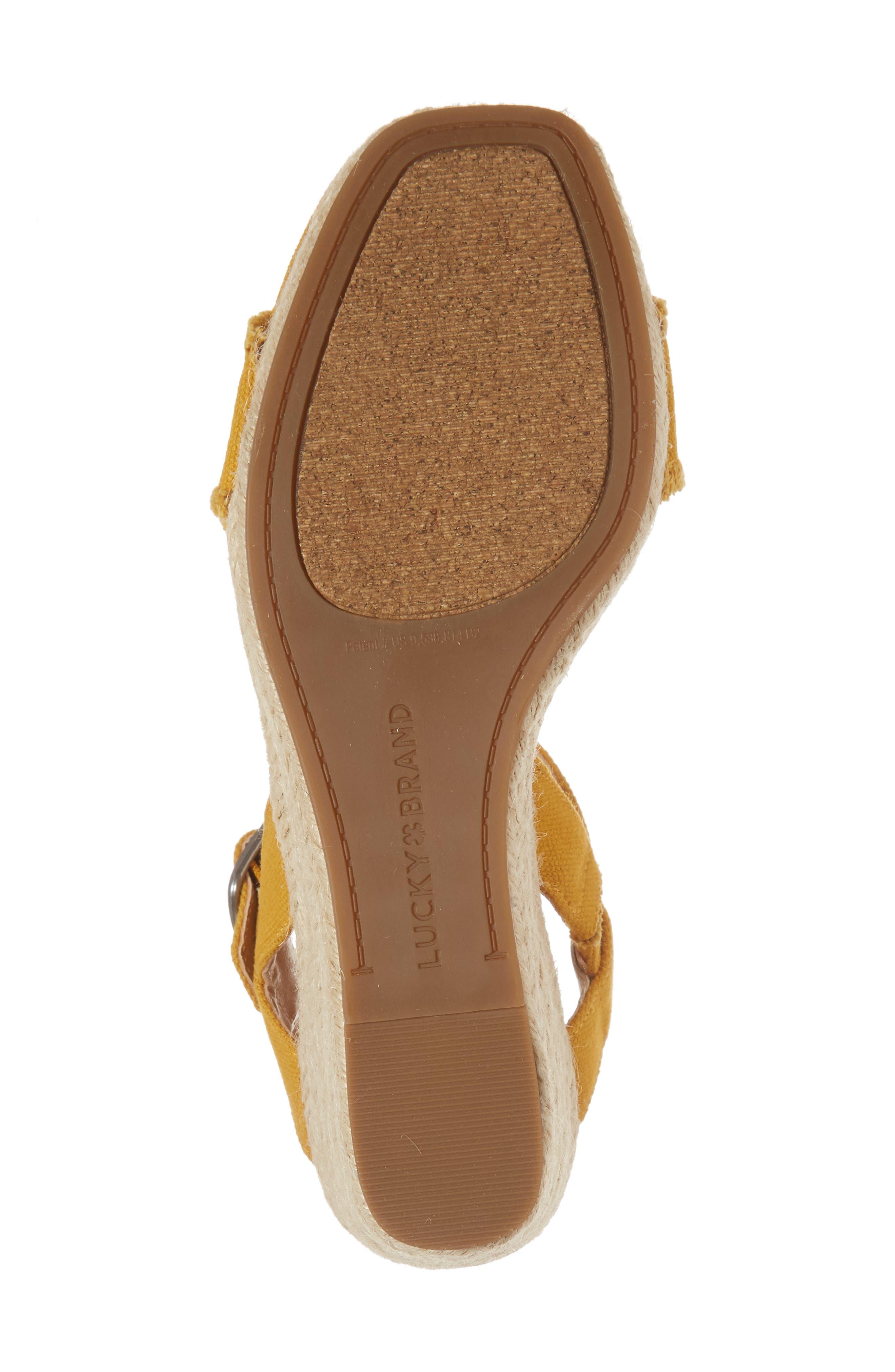 Marceline Squared Toe Wedge Sandal,                             Alternate thumbnail 41, color,