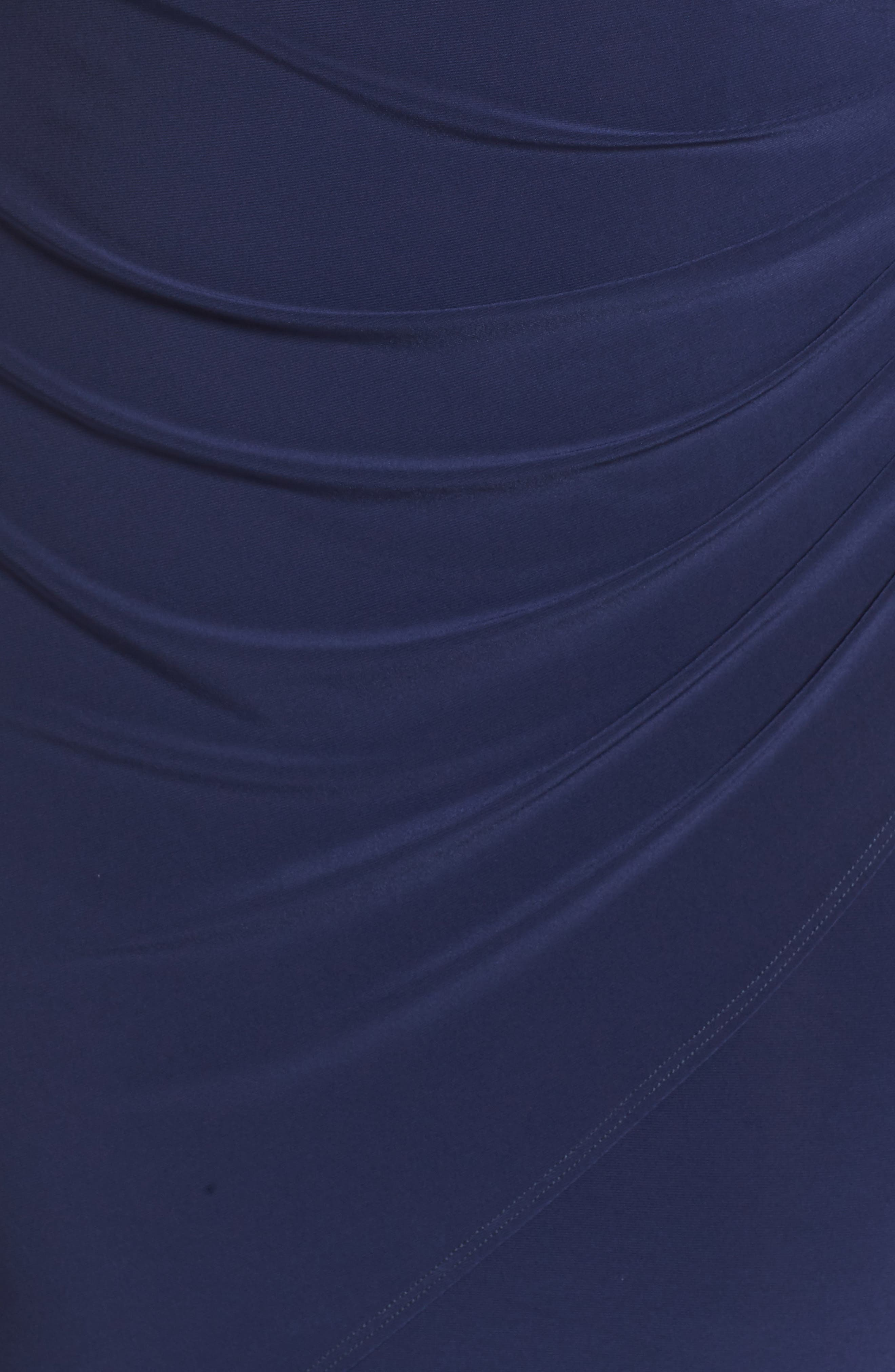 Embellished Faux Wrap Dress,                             Alternate thumbnail 7, color,                             410