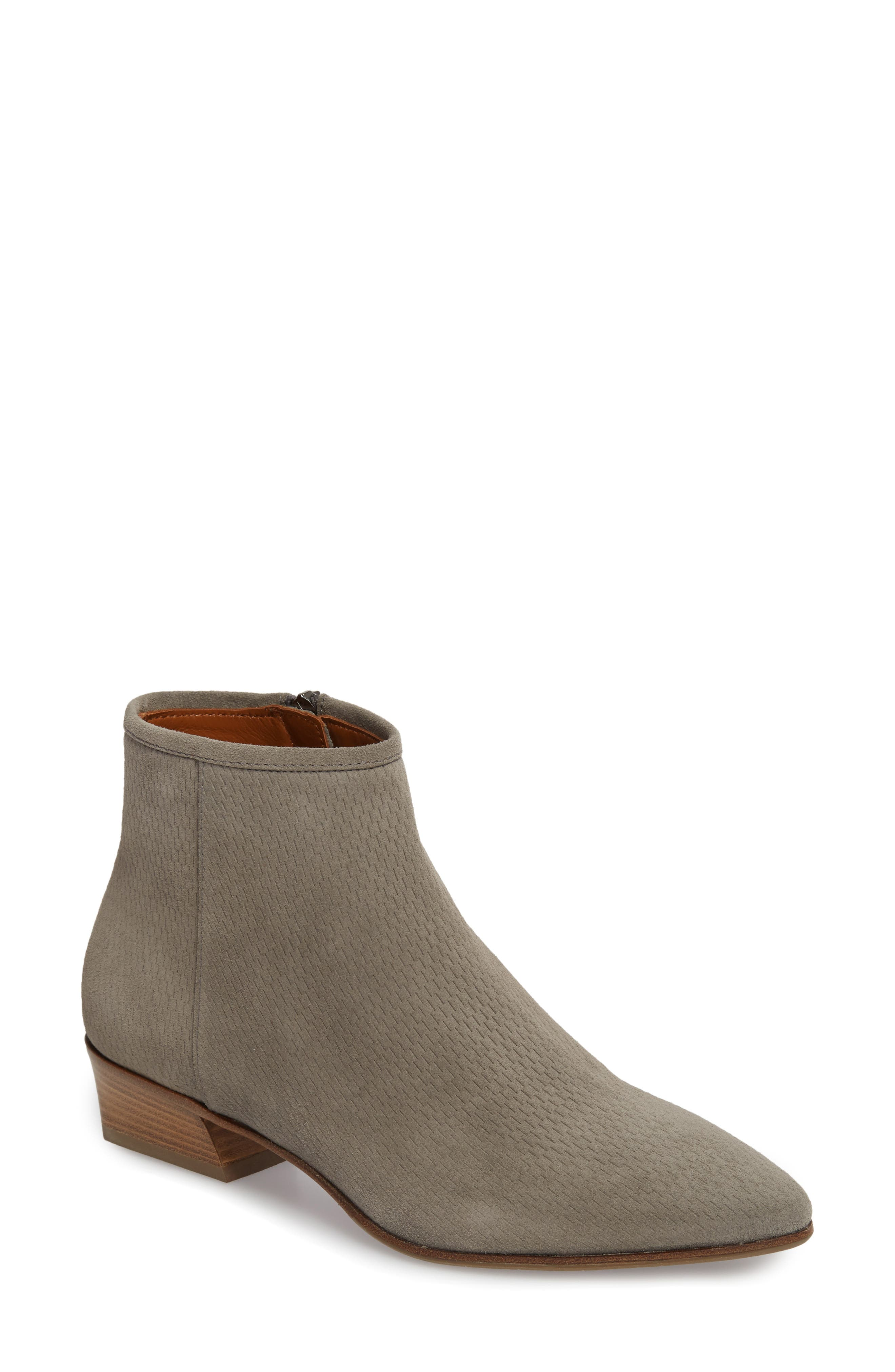 Fire Embossed Bootie,                             Main thumbnail 1, color,                             020