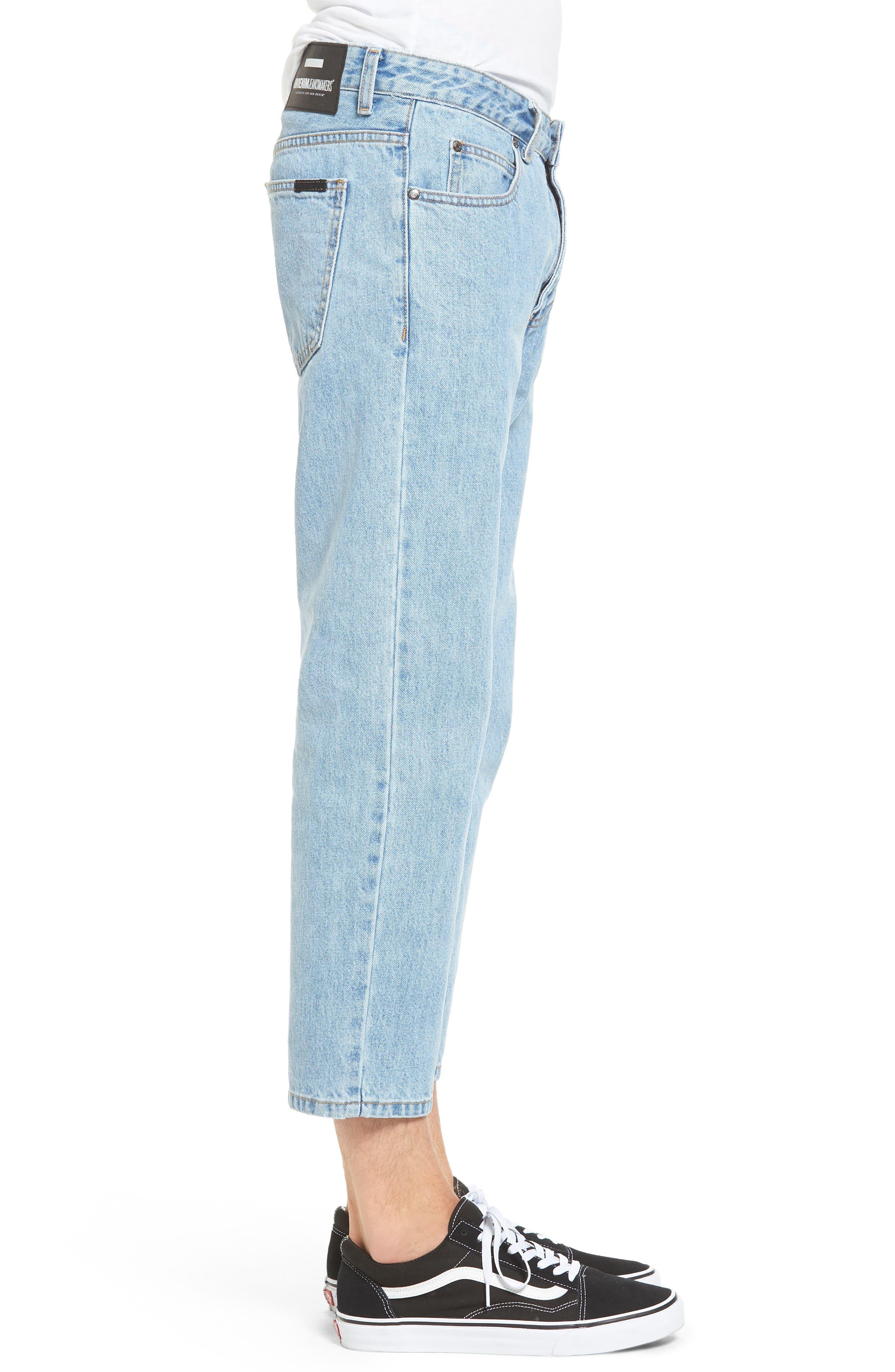 Otis Straight Fit Jeans,                             Alternate thumbnail 3, color,