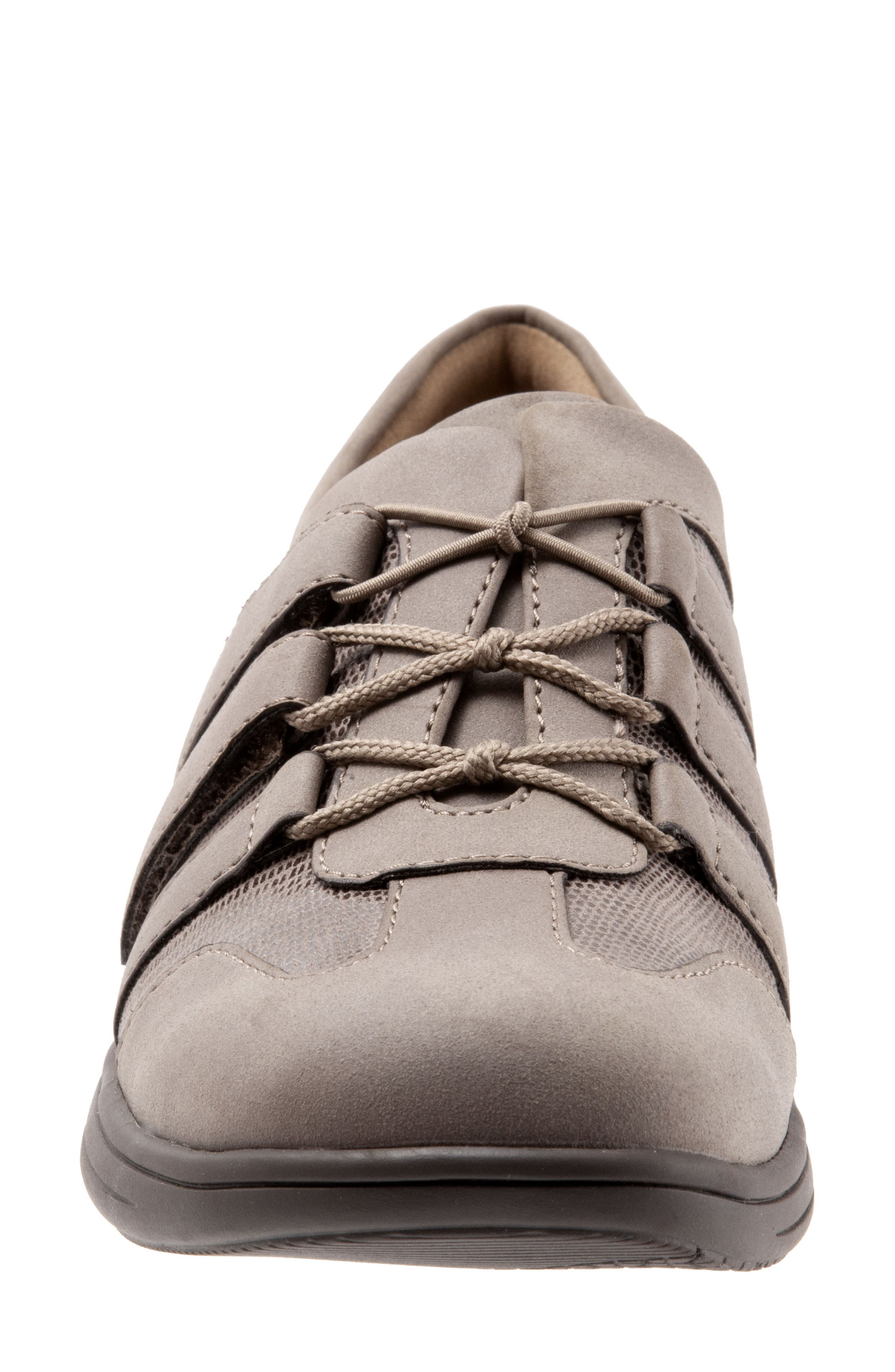 Joy Slip-On Sneaker,                             Alternate thumbnail 4, color,                             TAUPE LEATHER