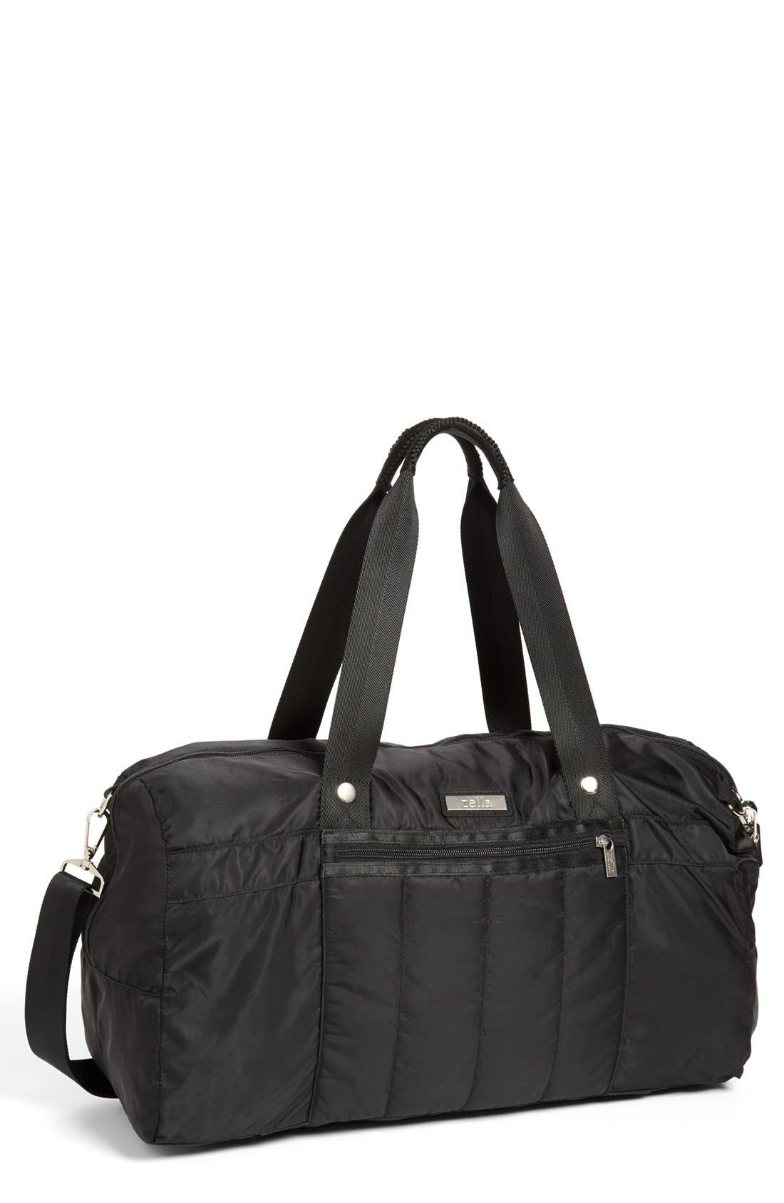 Quilted Gear Duffel Bag,                         Main,                         color, 001