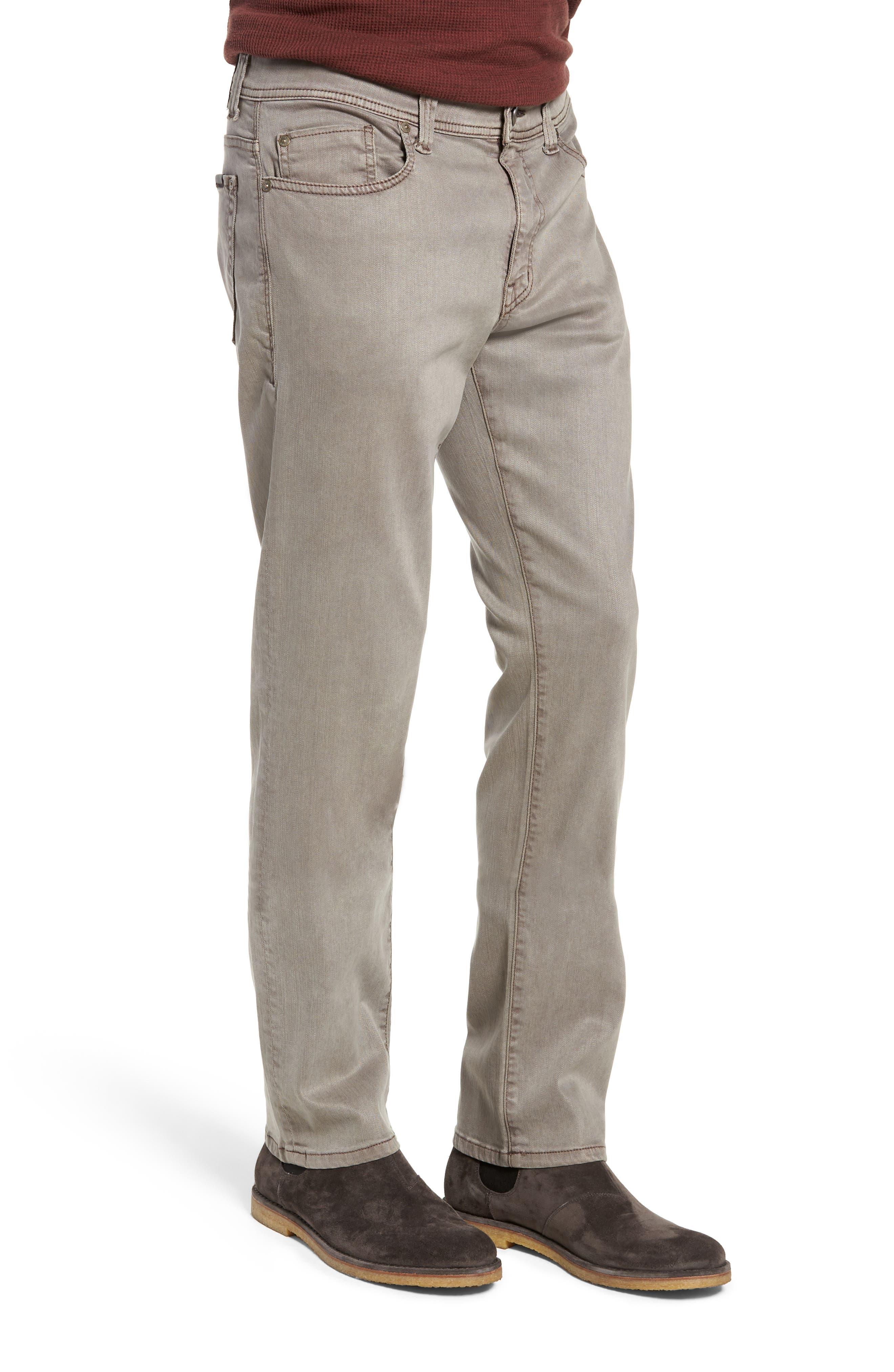 Jimmy Slim Straight Leg Twill Pants,                             Alternate thumbnail 3, color,                             200