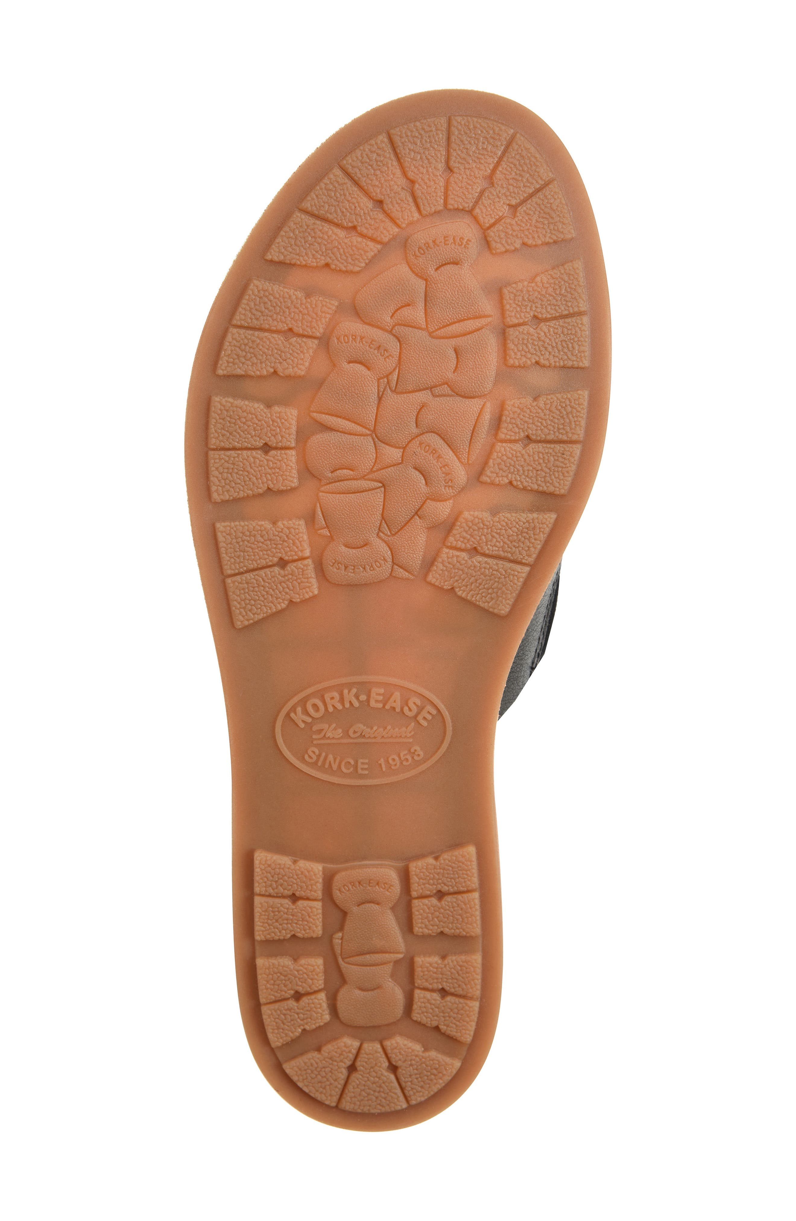 Gila Slide Sandal,                             Alternate thumbnail 6, color,                             BLACK LEATHER