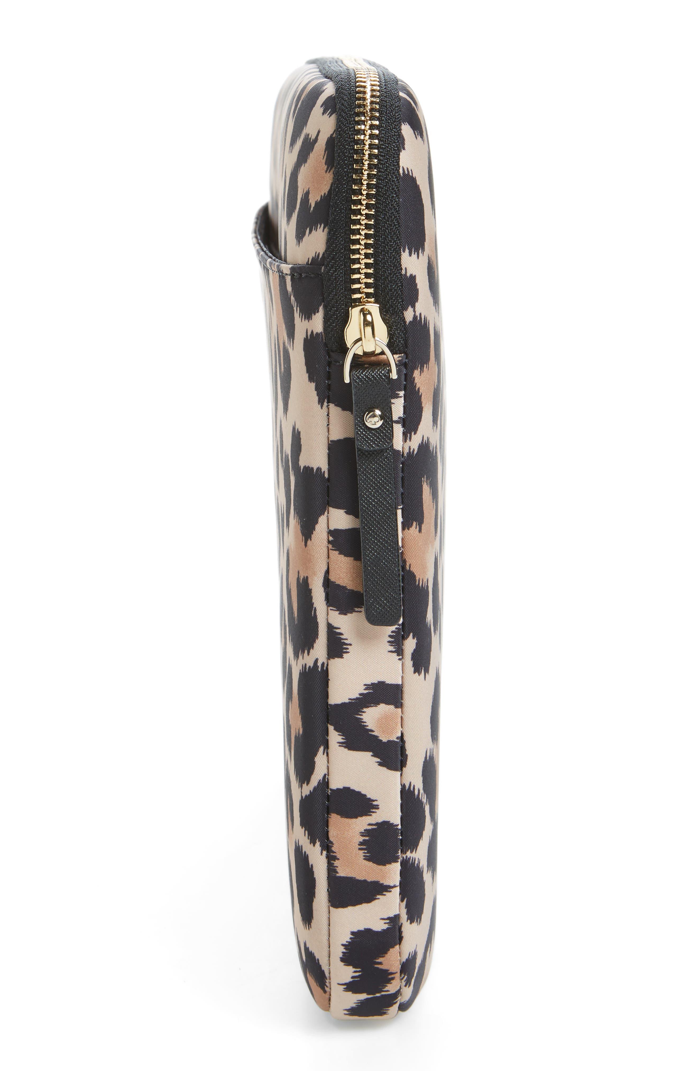 leopard 13-Inch laptop sleeve,                             Alternate thumbnail 3, color,                             200