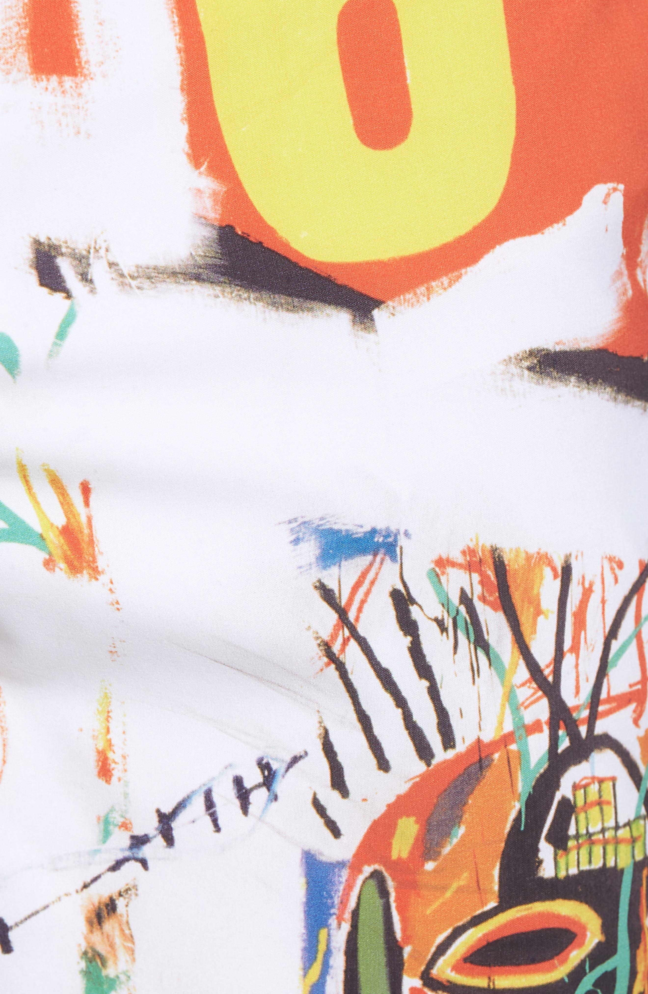 x Warhol 699 Board Shorts,                             Alternate thumbnail 5, color,                             100