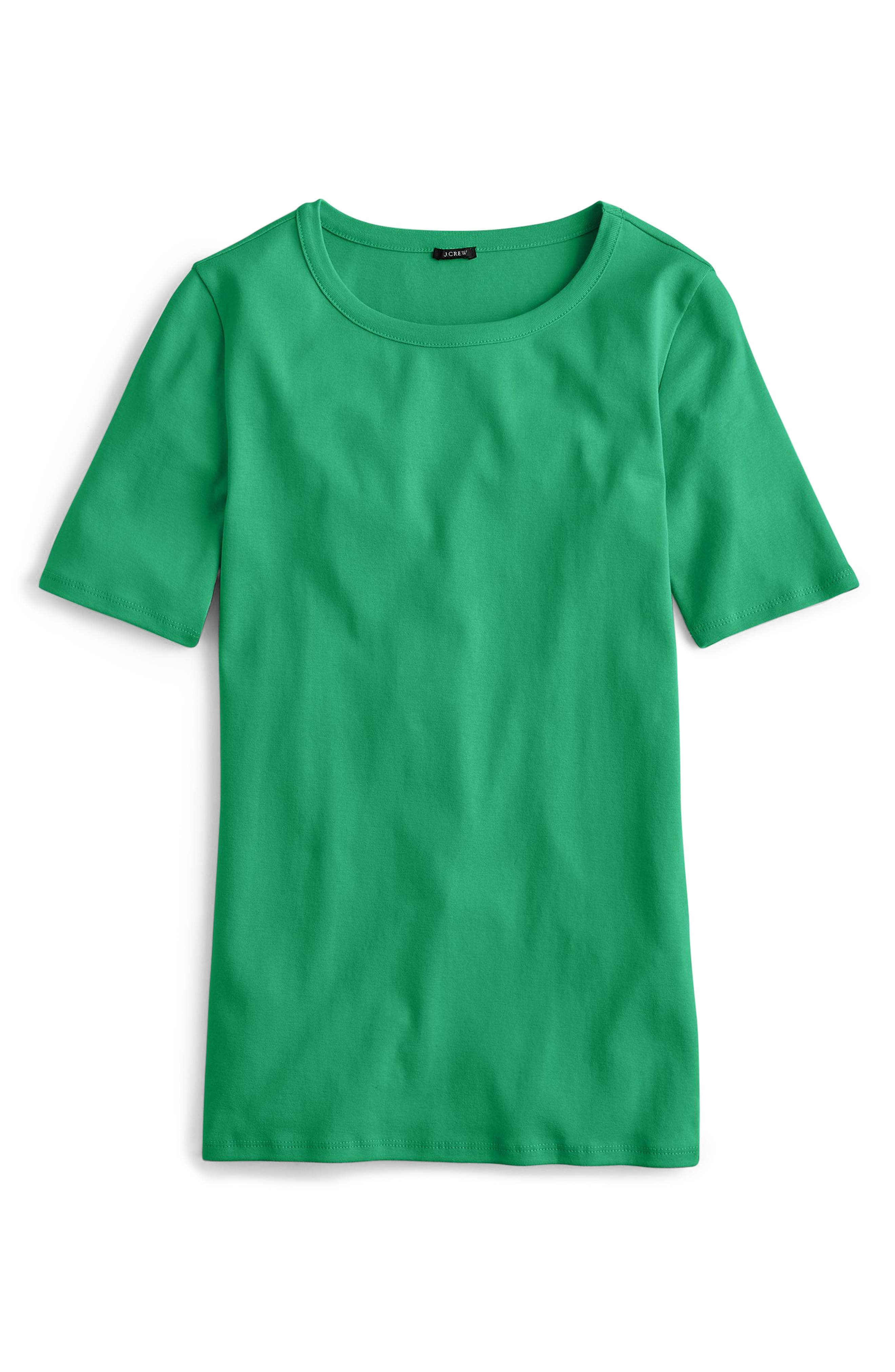 New Perfect Fit T-Shirt,                         Main,                         color, ALPINE MEADOW
