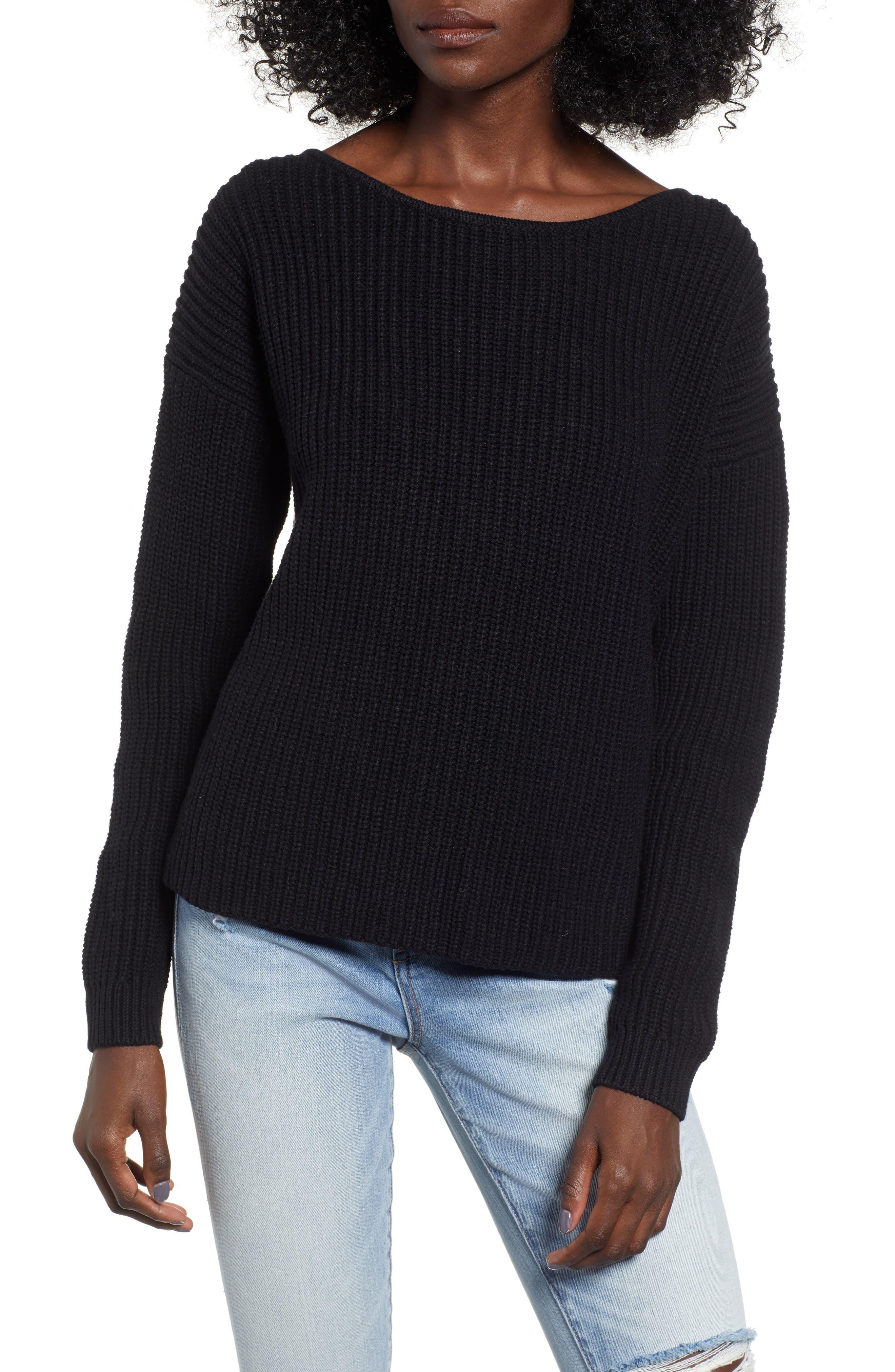 ROXY Bridge Sweater in True Black