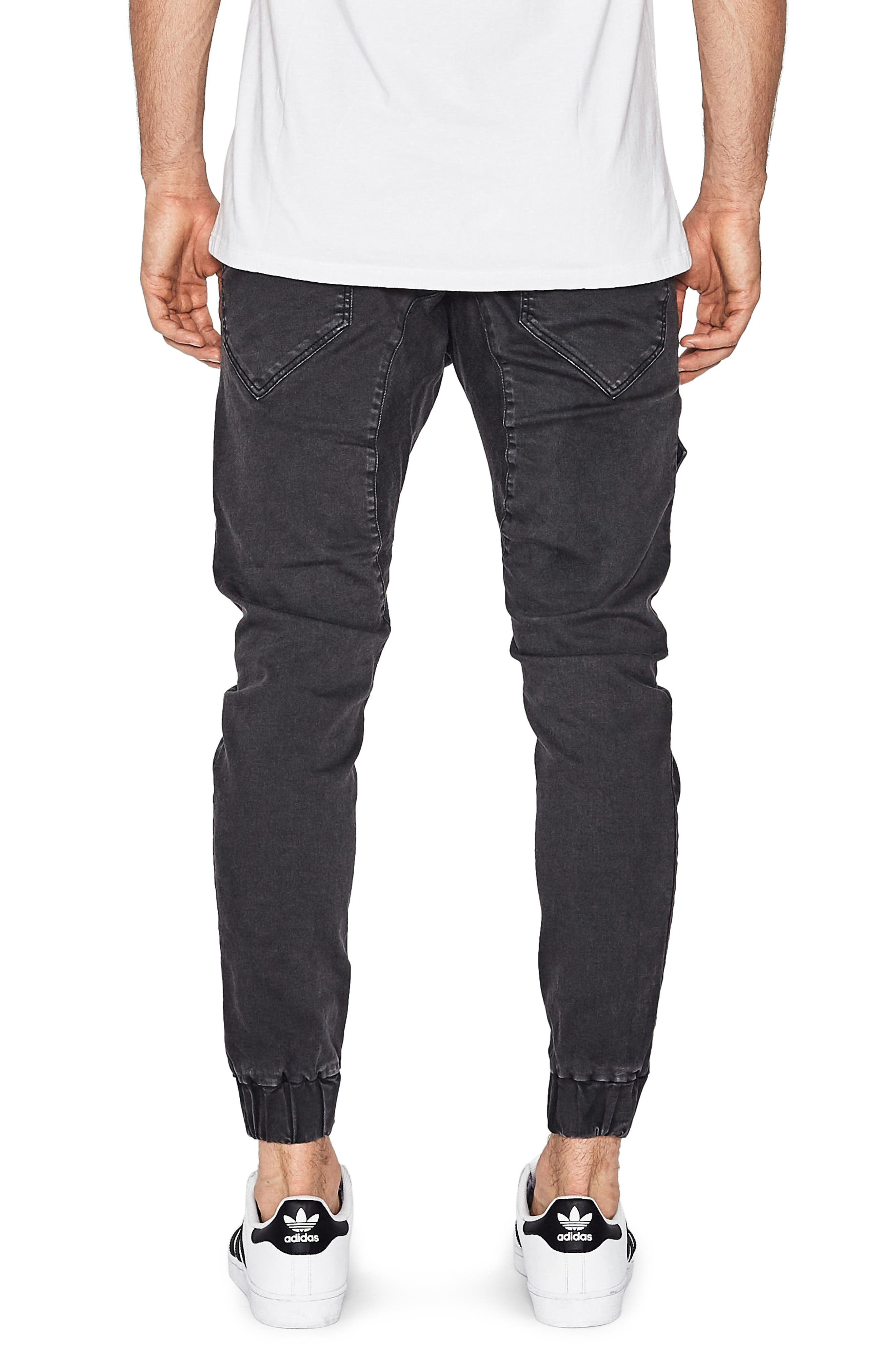 Flight Skinny Denim Jogger Pants,                             Alternate thumbnail 11, color,