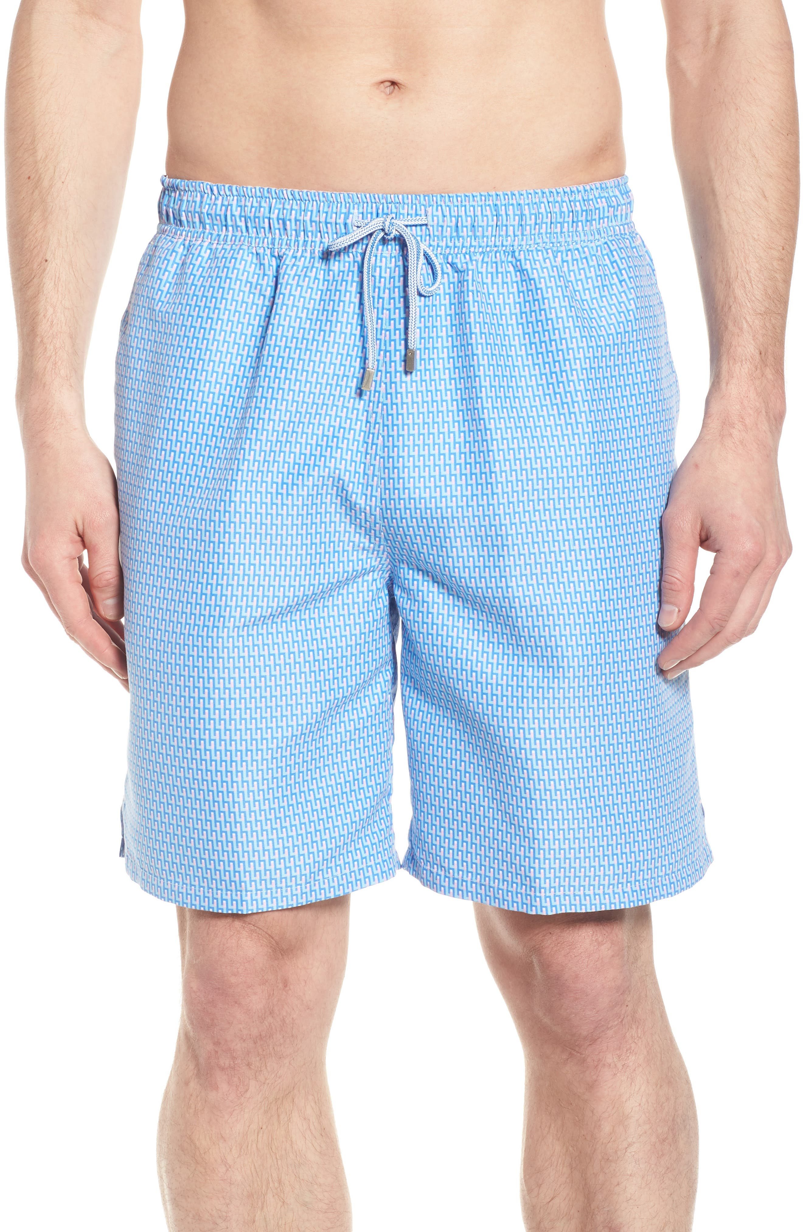 Mazed & Confused Swim Trunks,                             Main thumbnail 1, color,                             CERAMIC
