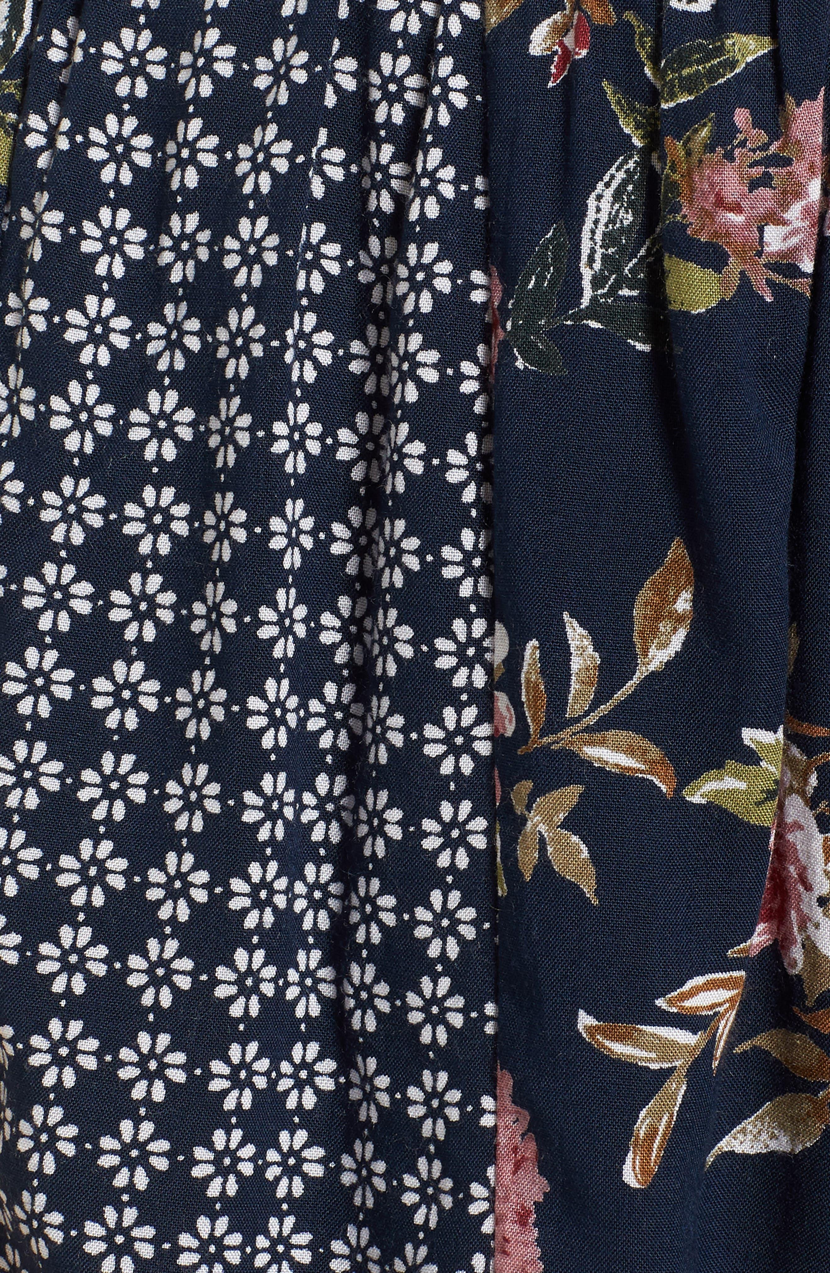 Mix Print Shorts,                             Alternate thumbnail 5, color,                             404