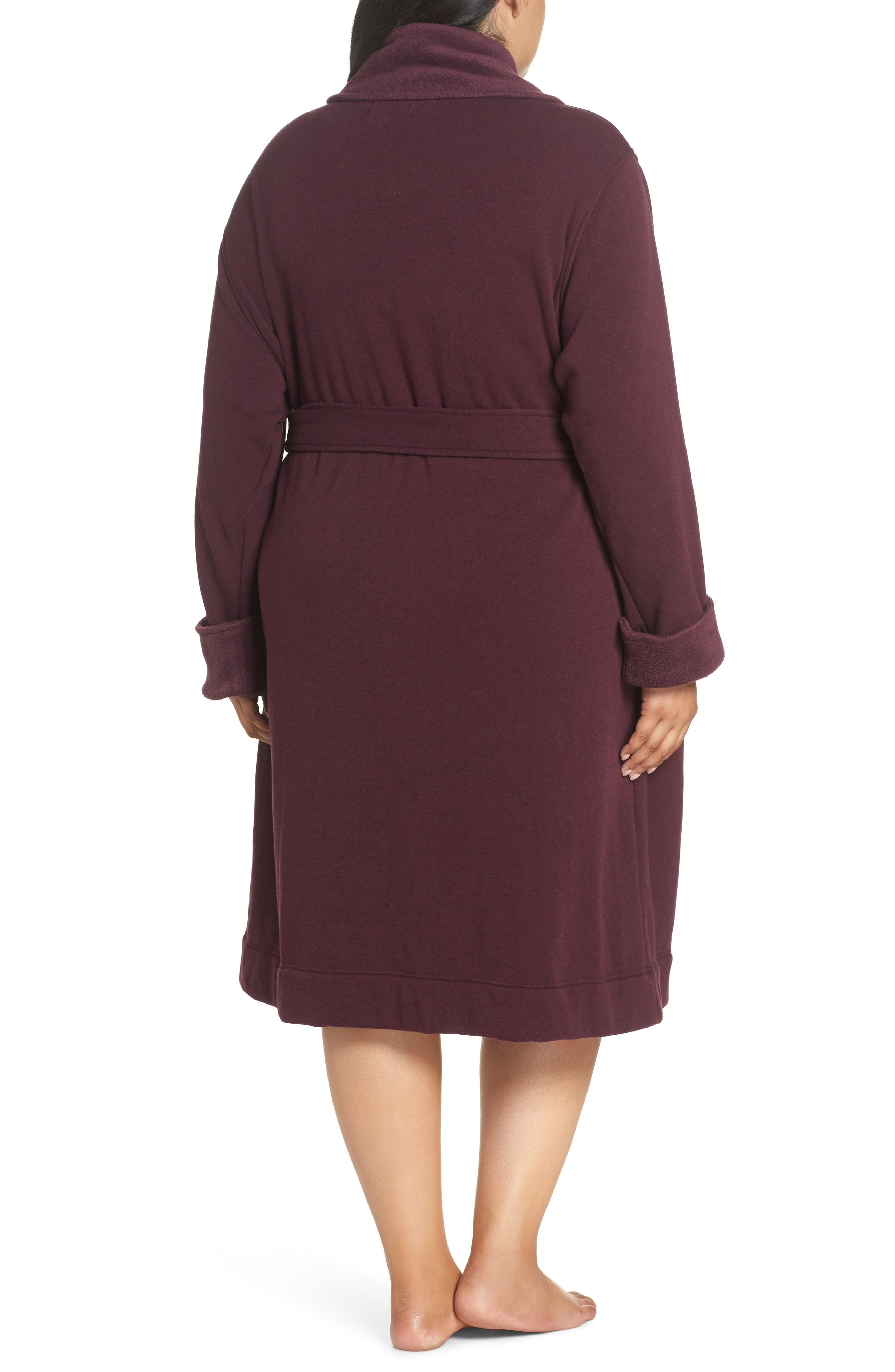 Duffield II Robe,                             Alternate thumbnail 2, color,                             PORT HEATHER