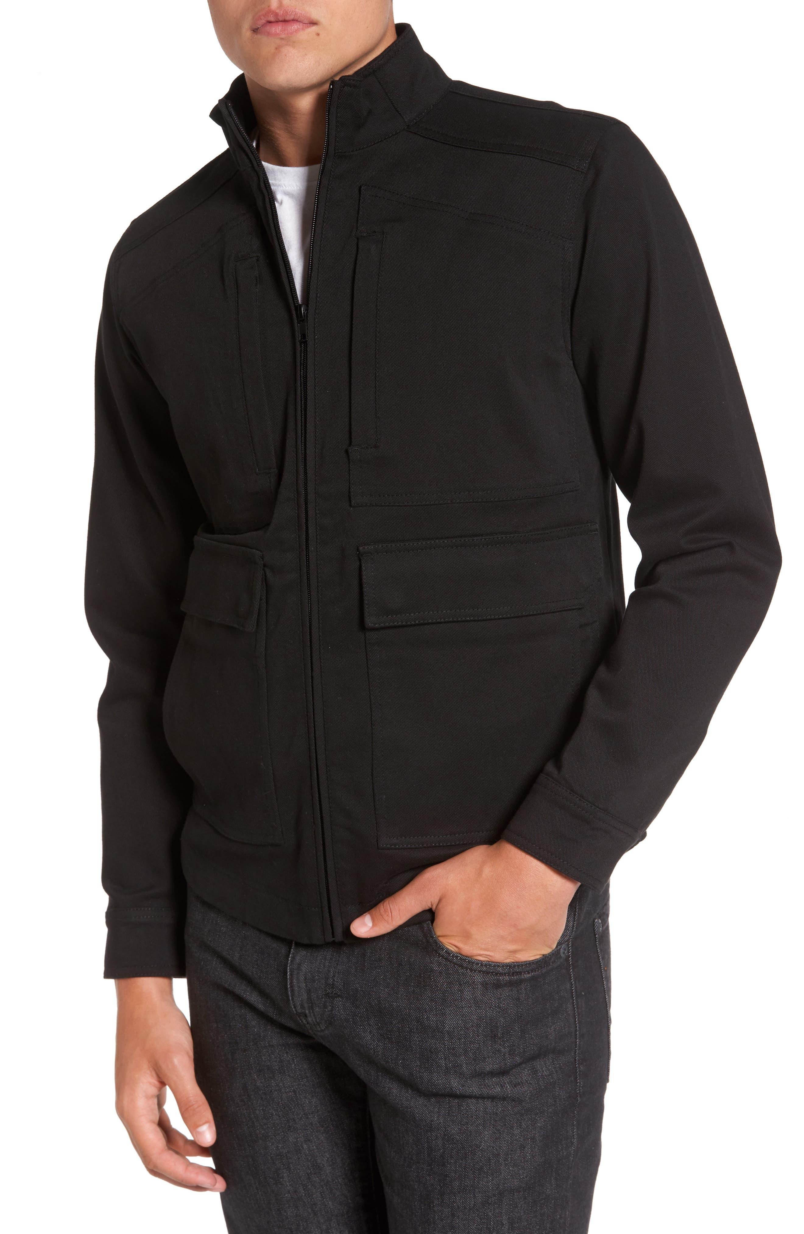 Zip Jacket,                             Main thumbnail 1, color,                             001