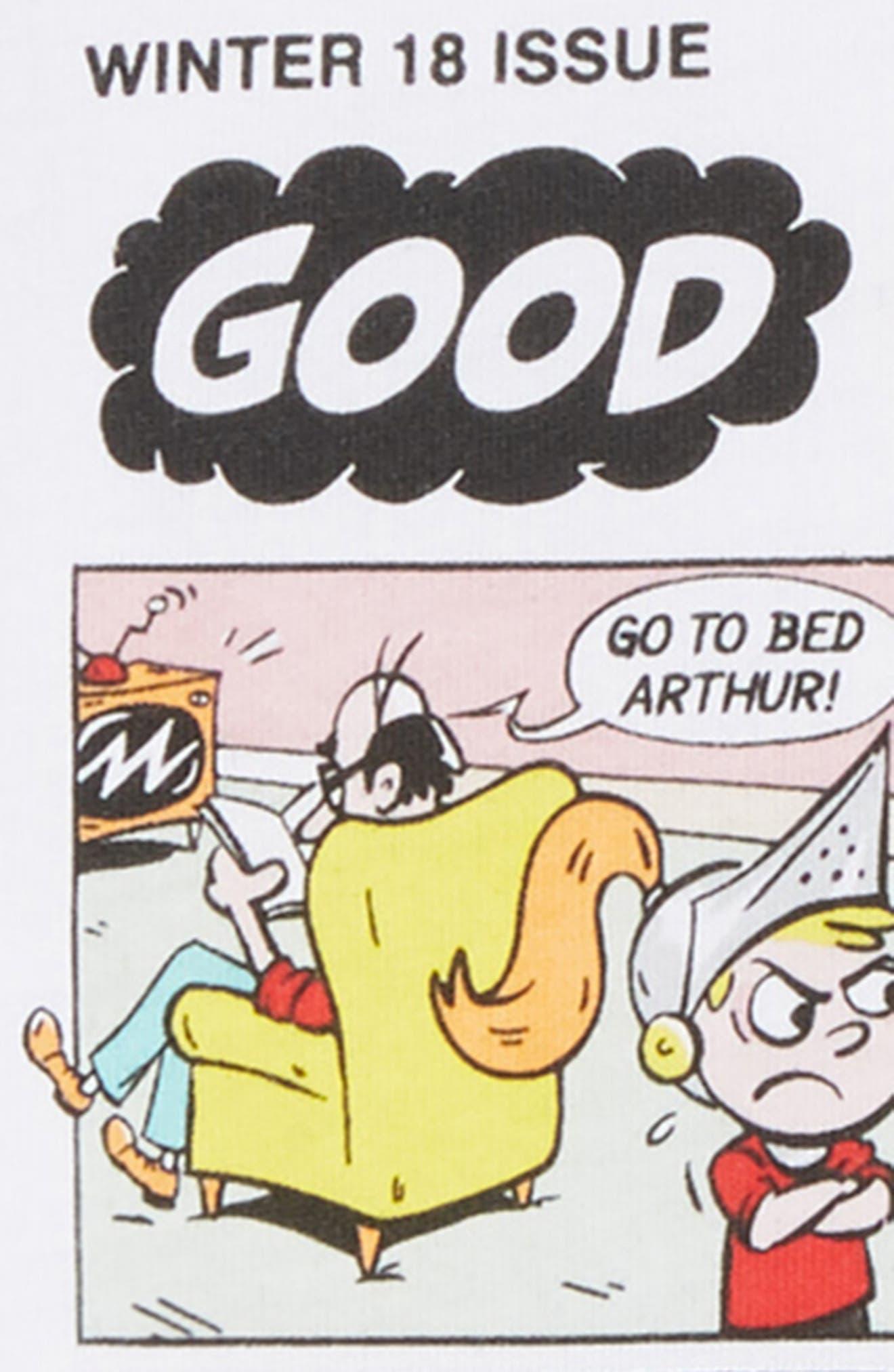 Comic Strip T-Shirt,                             Alternate thumbnail 2, color,                             100