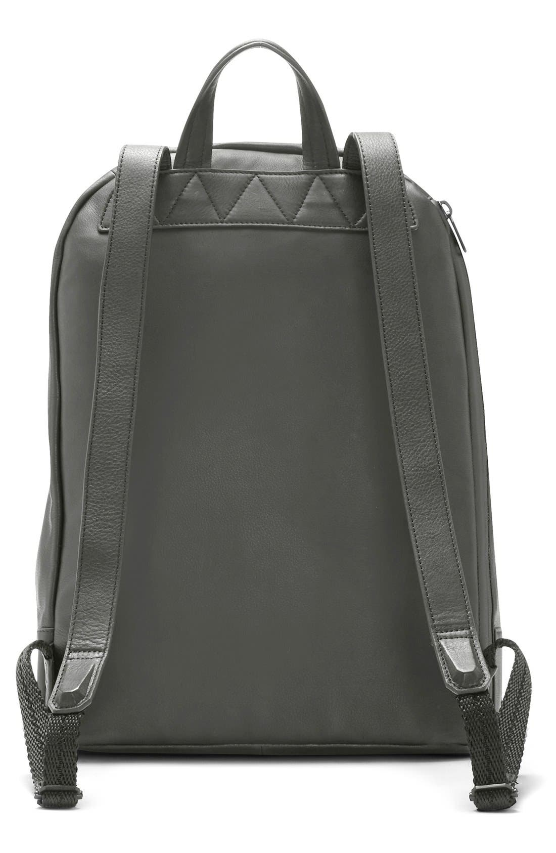 'Tolve' Leather Backpack,                             Alternate thumbnail 2, color,                             021