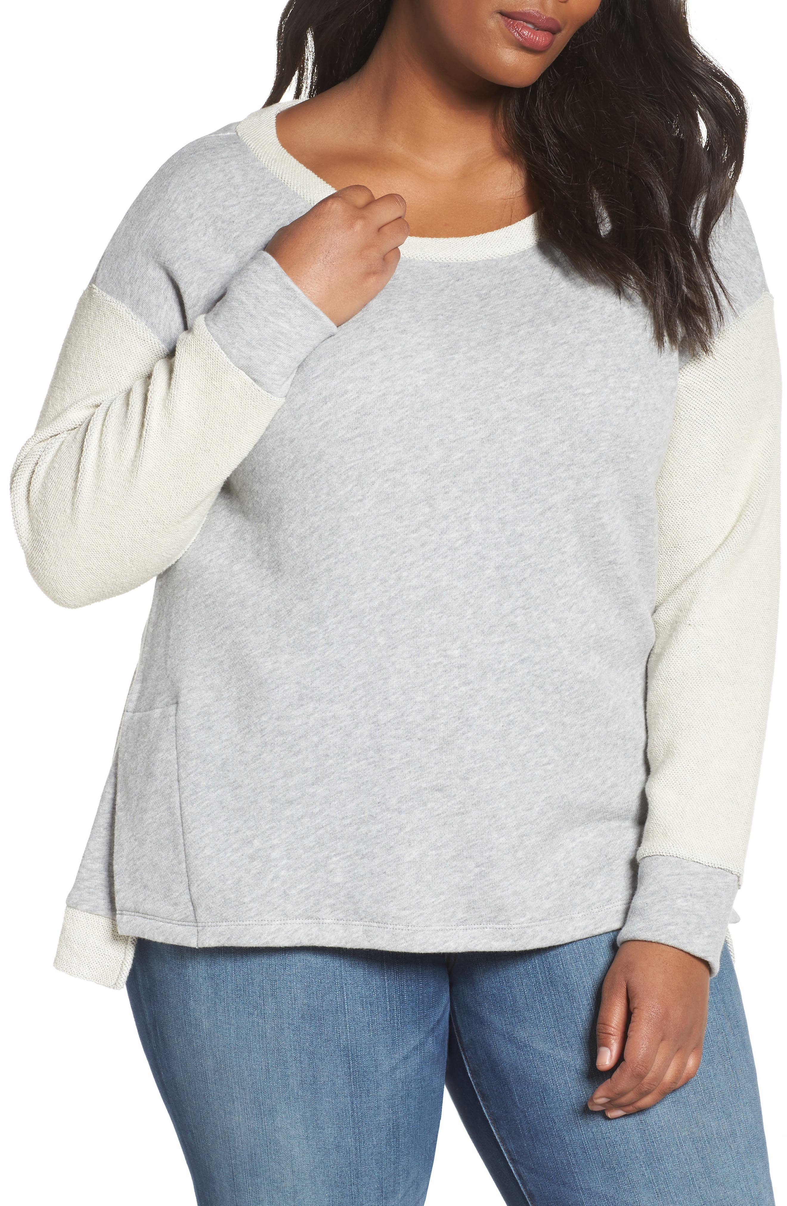 Relaxed Sweatshirt,                         Main,                         color, 030