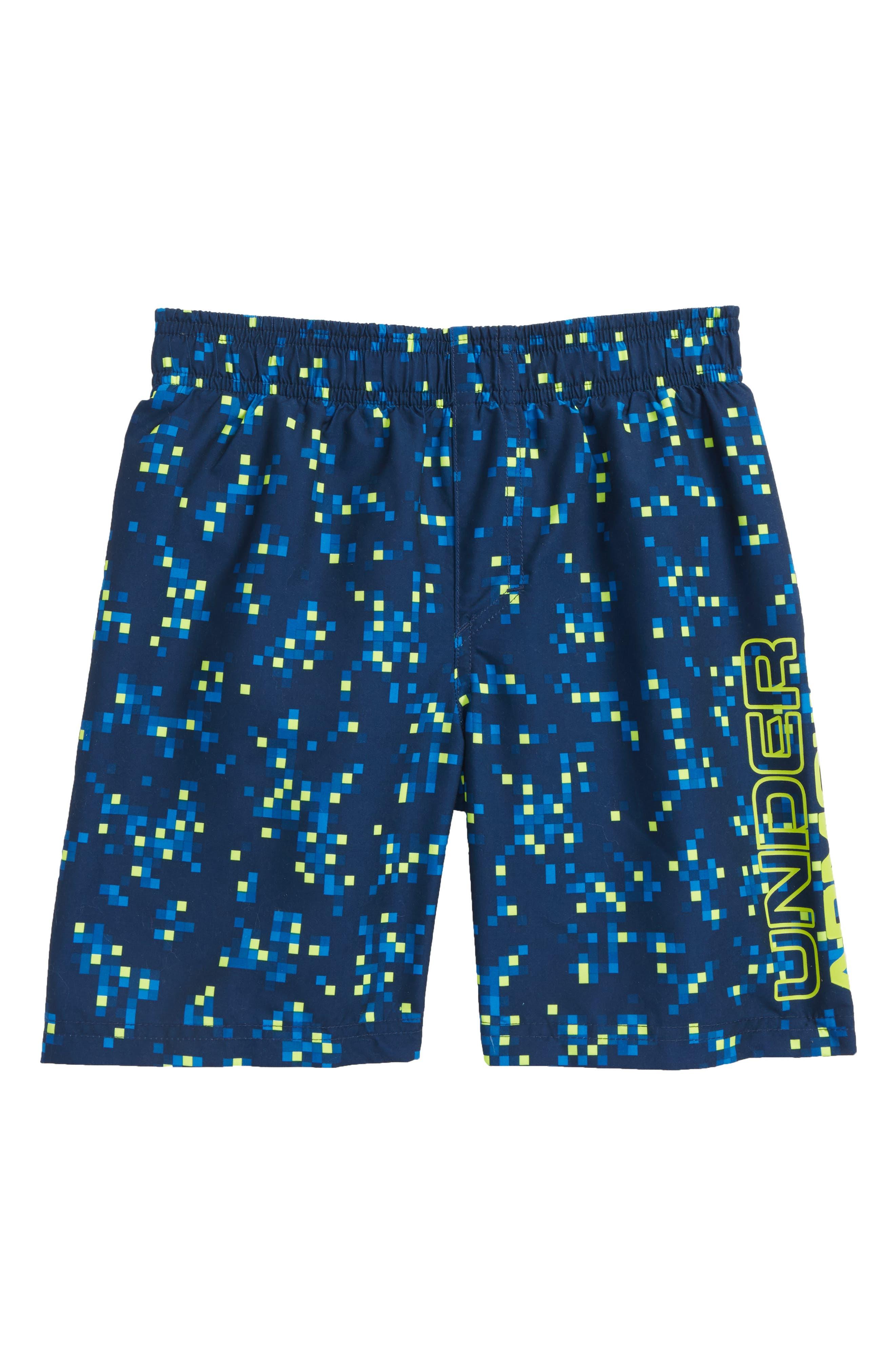 Digi Camo Volley Shorts,                             Main thumbnail 1, color,                             410