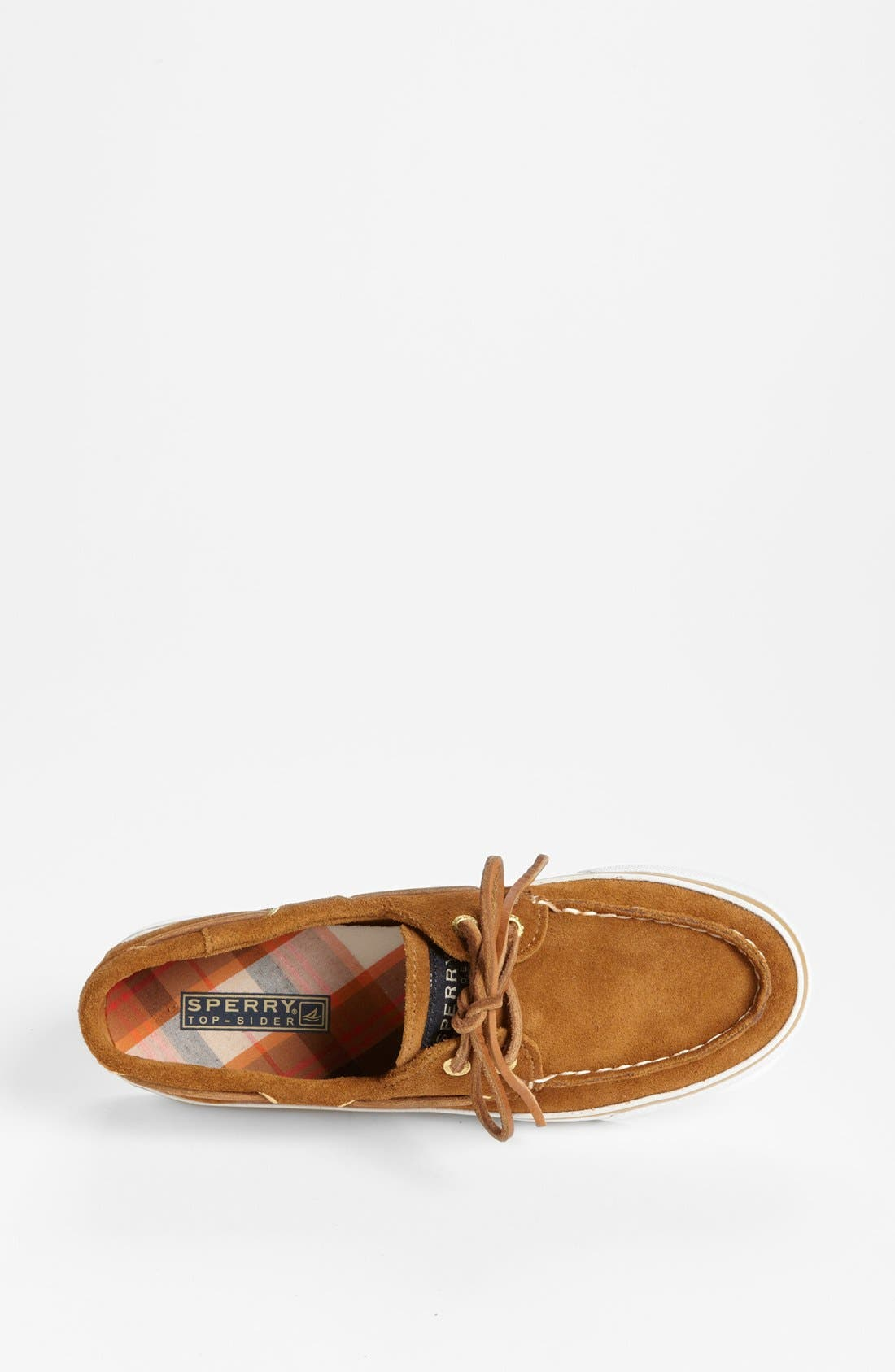 Top-Sider<sup>®</sup> 'Bahama' Sequined Boat Shoe,                             Alternate thumbnail 100, color,