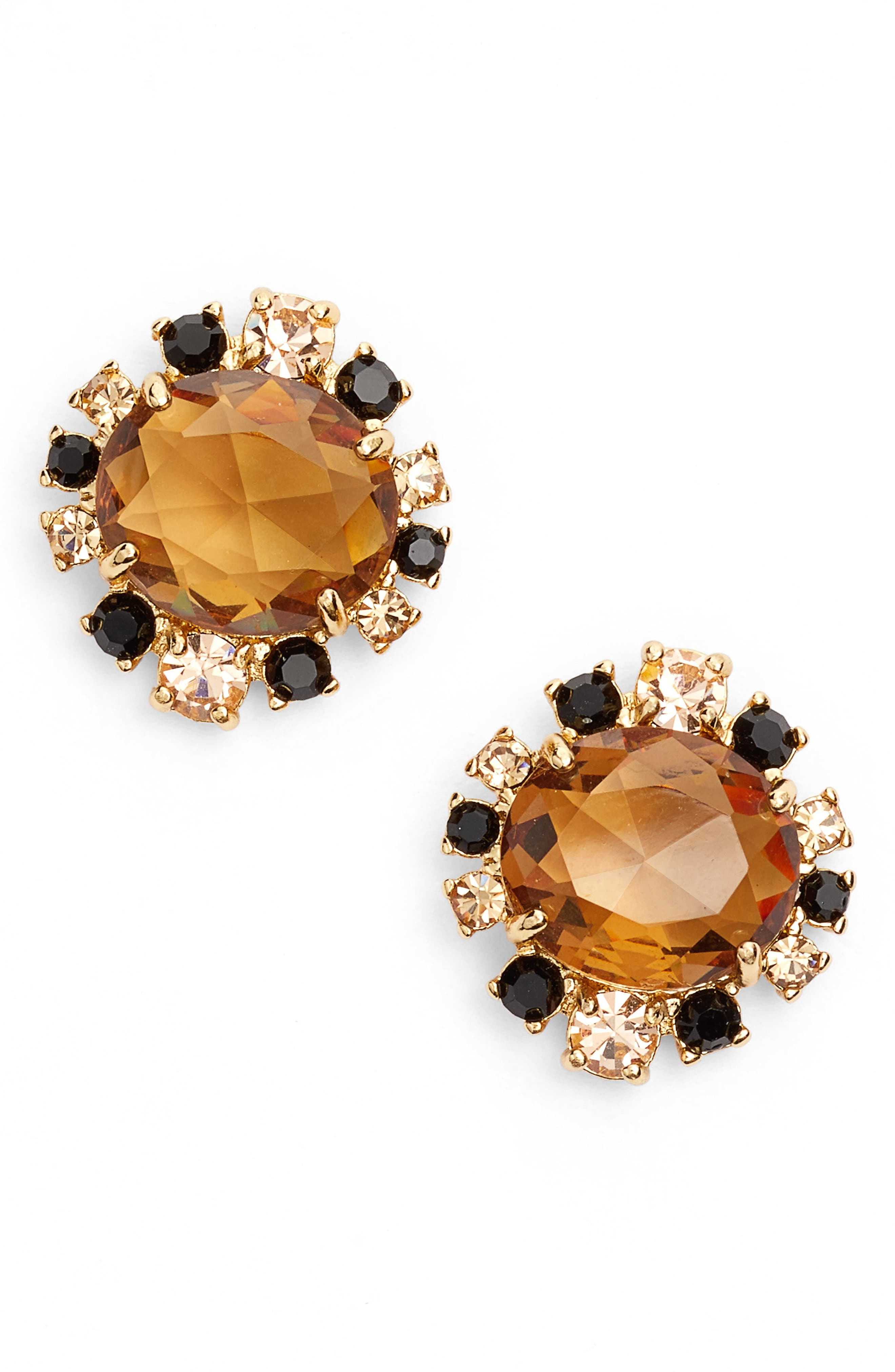 light things up cluster stud earrings,                         Main,                         color, 711