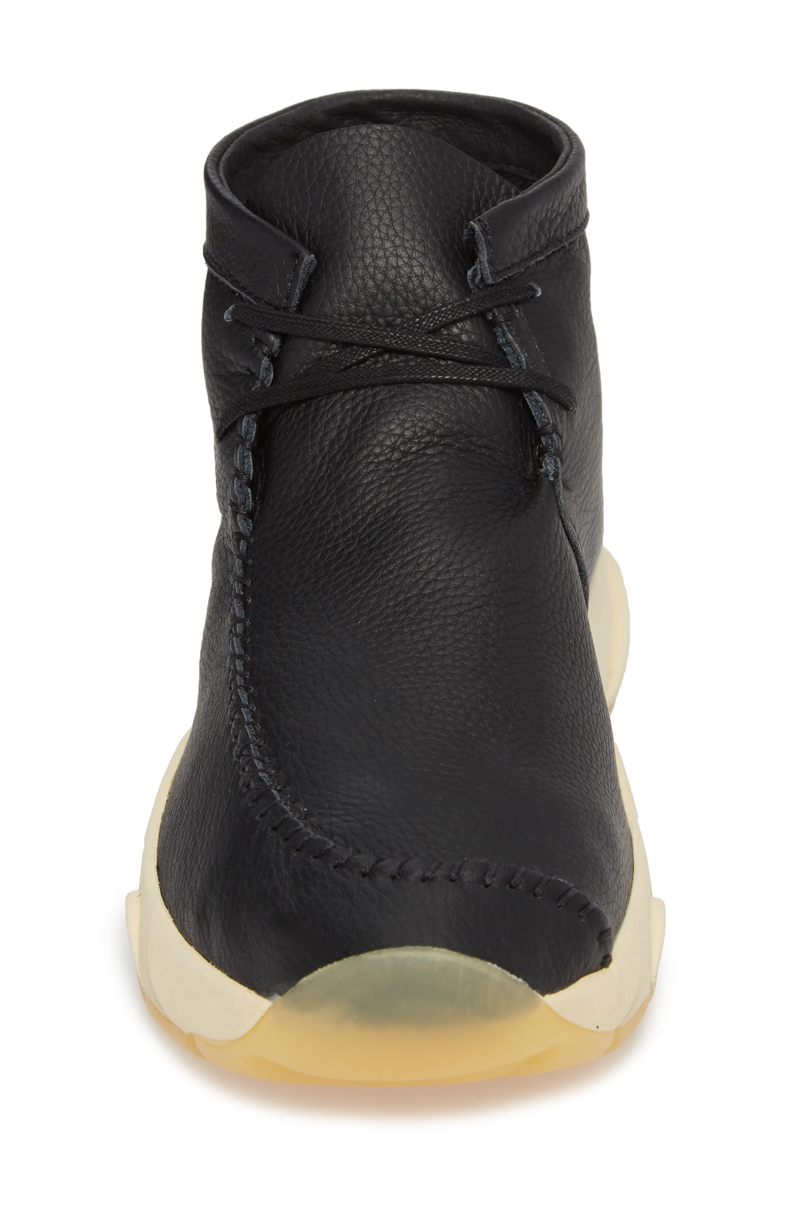 Castas Asymmetrical Chukka Sneaker,                             Alternate thumbnail 4, color,                             001