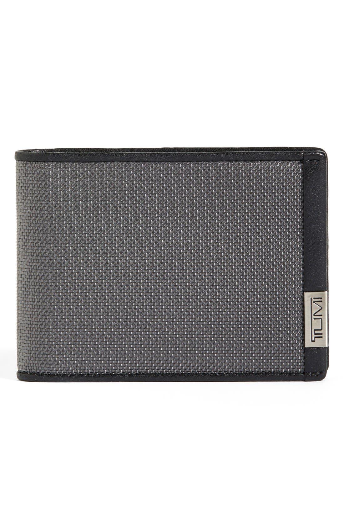 Alpha Ballistic Nylon Wallet, Main, color, 034