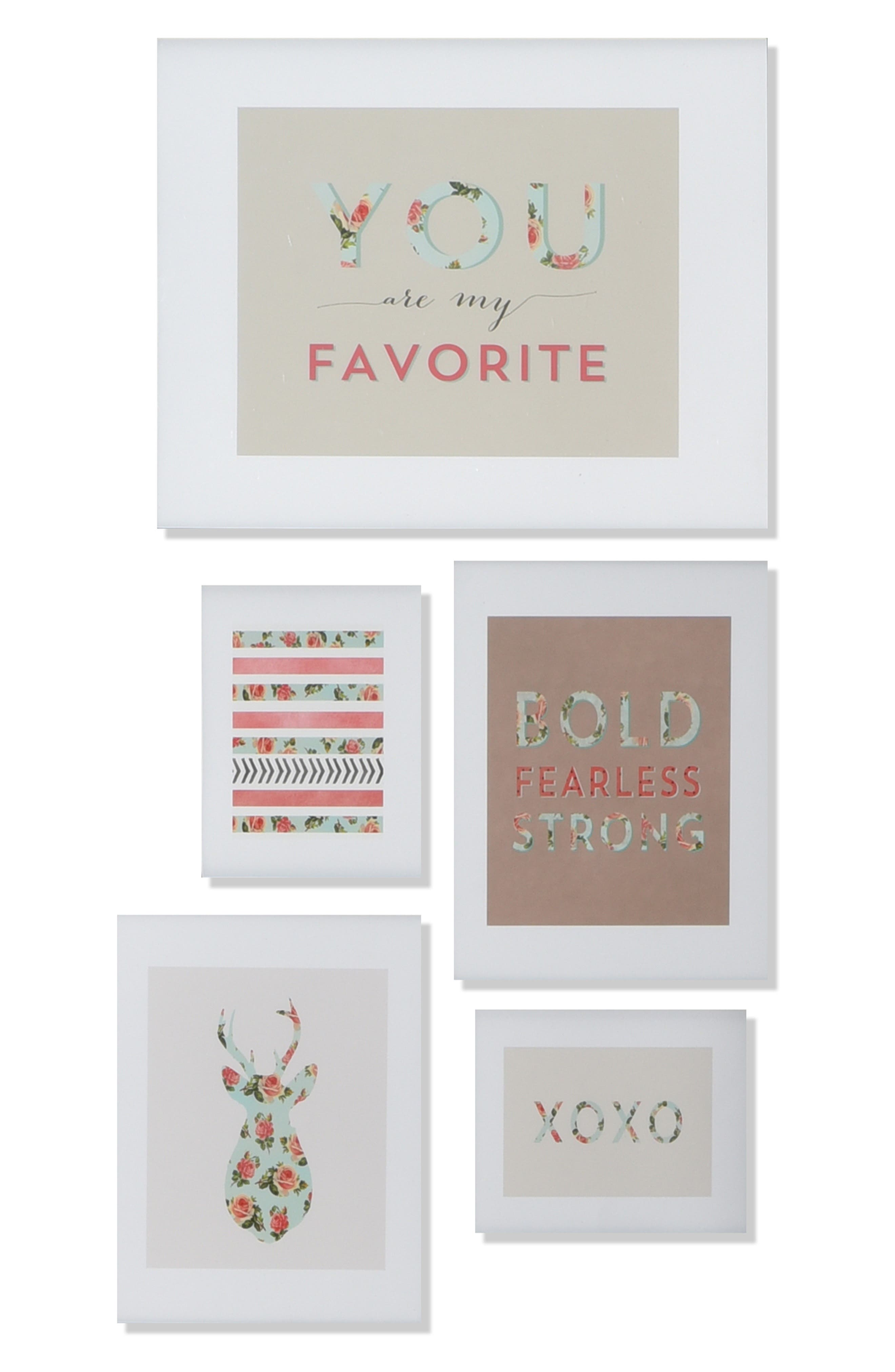 'You Are My Fave' Wall Art Gallery,                             Alternate thumbnail 4, color,