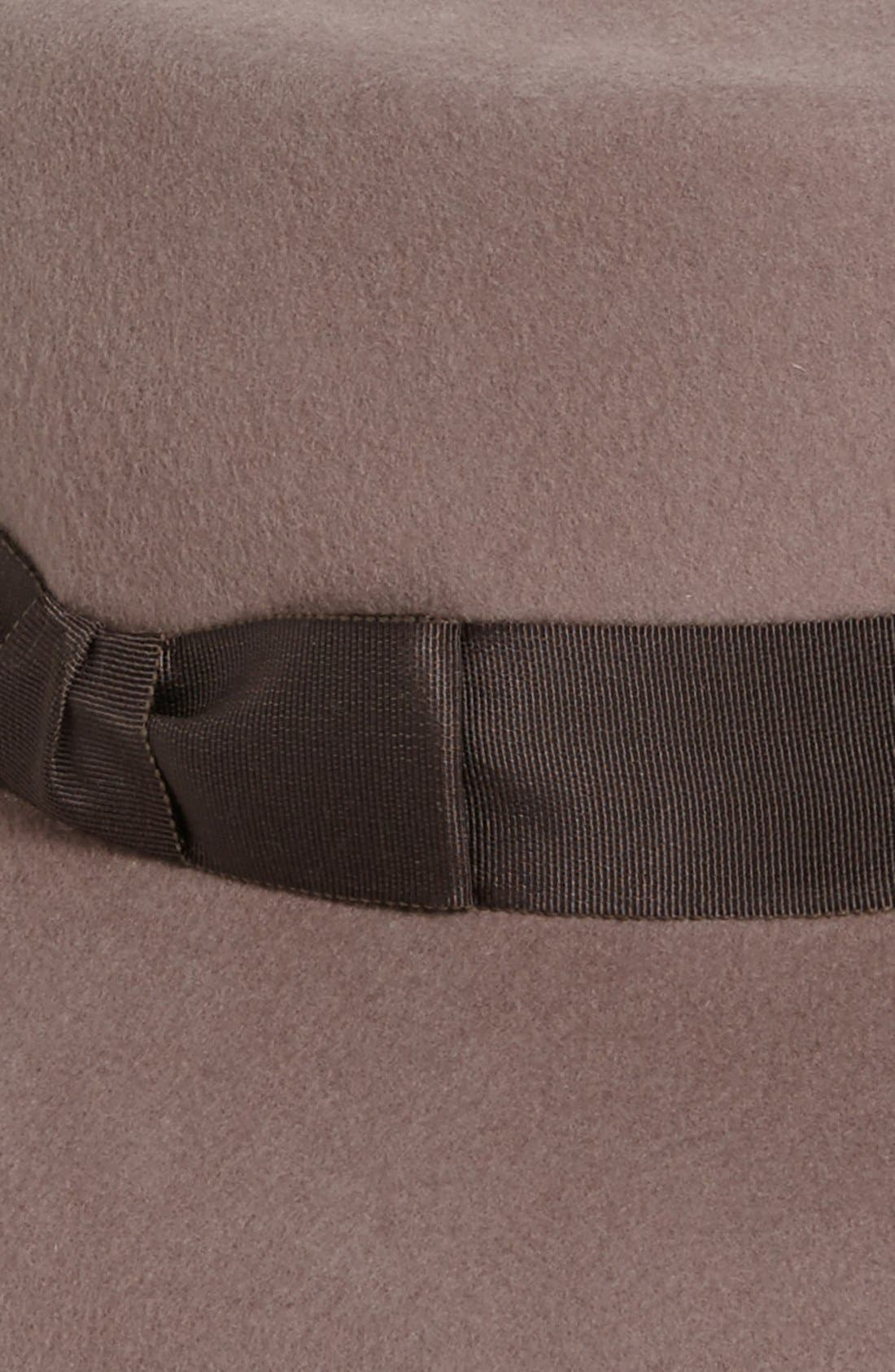 'Kim' Wool Fedora,                             Alternate thumbnail 8, color,