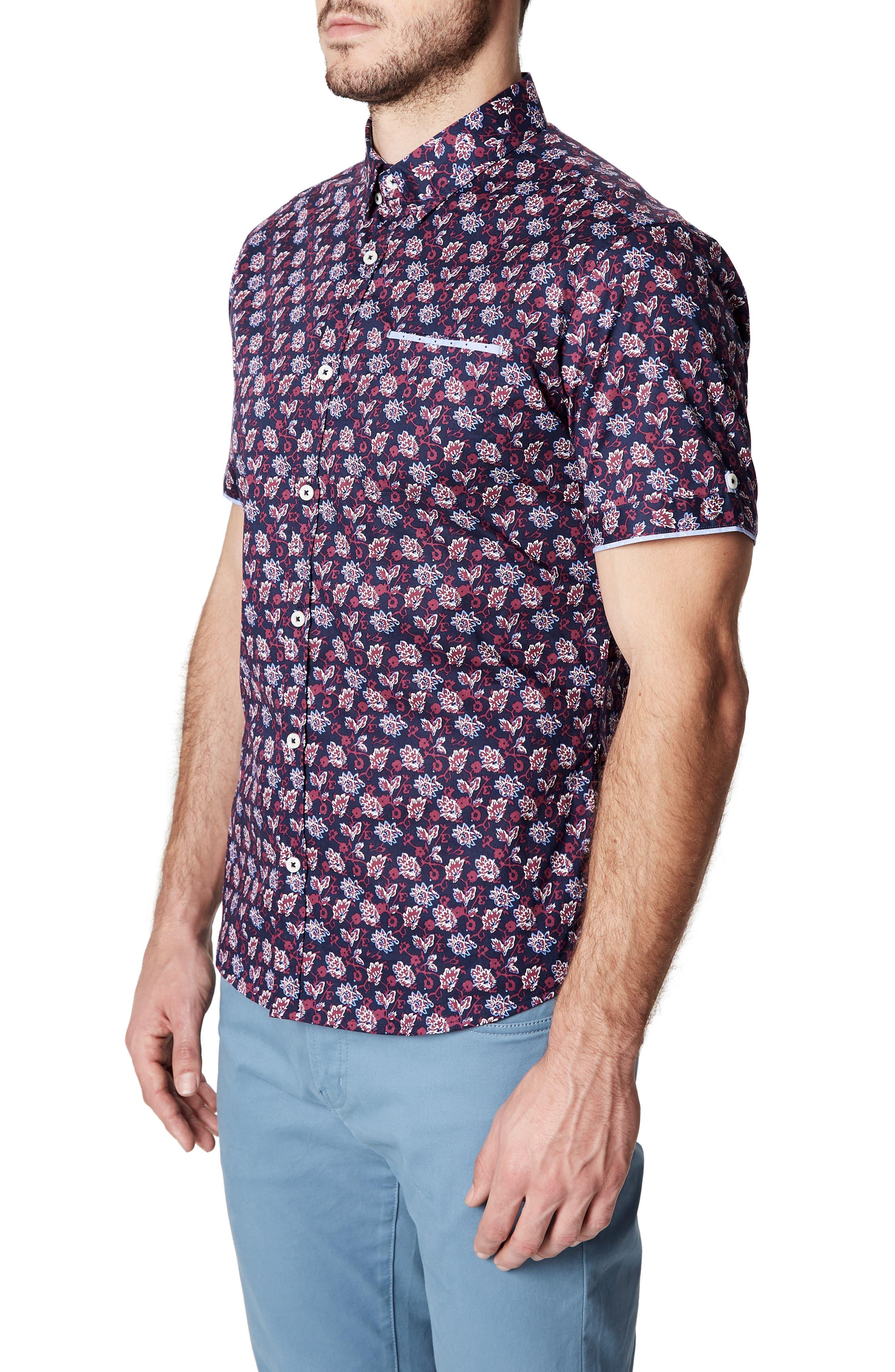Fan Fare Woven Shirt,                             Alternate thumbnail 3, color,