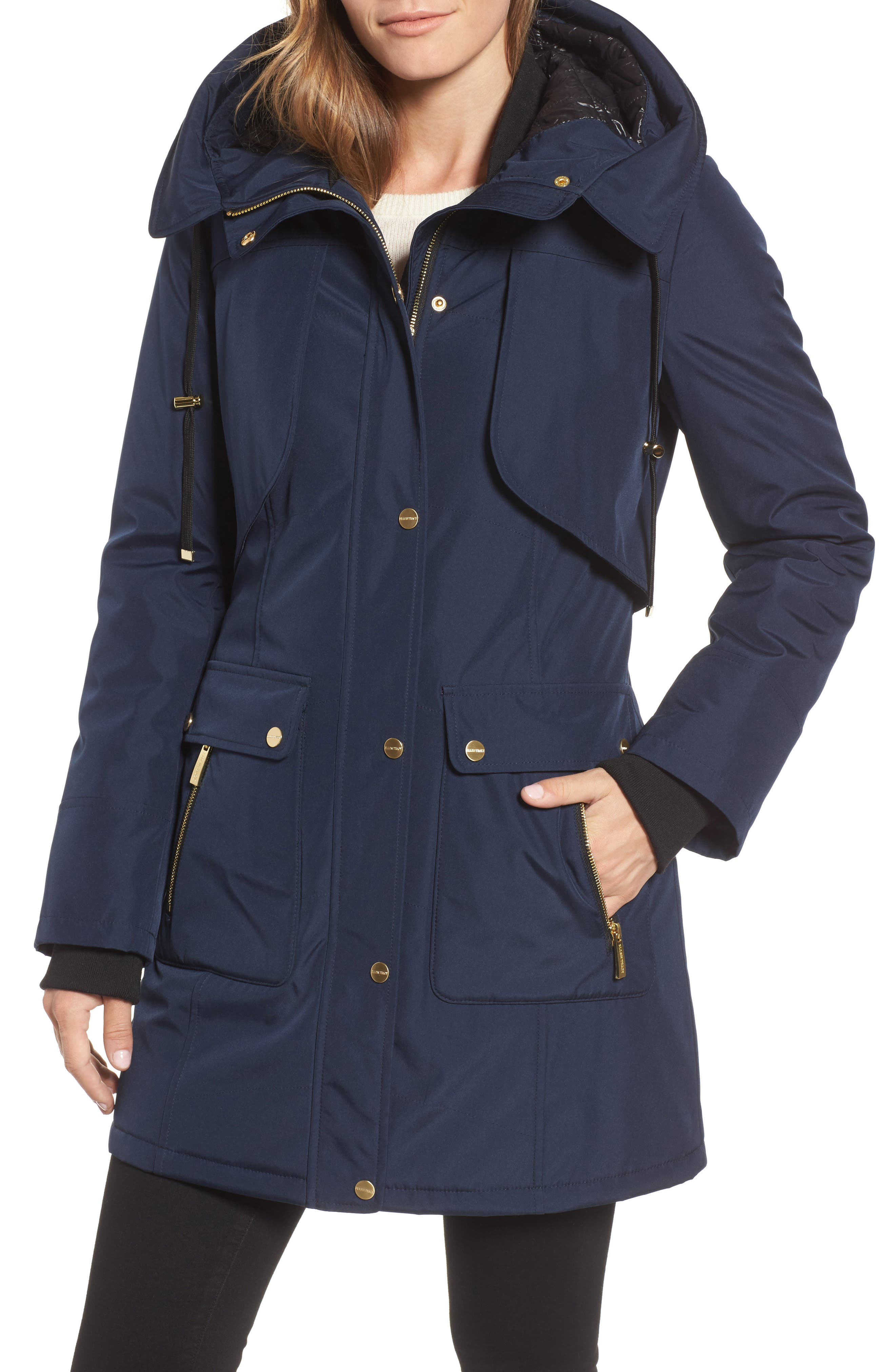 Quilted Techno Parka,                             Alternate thumbnail 8, color,