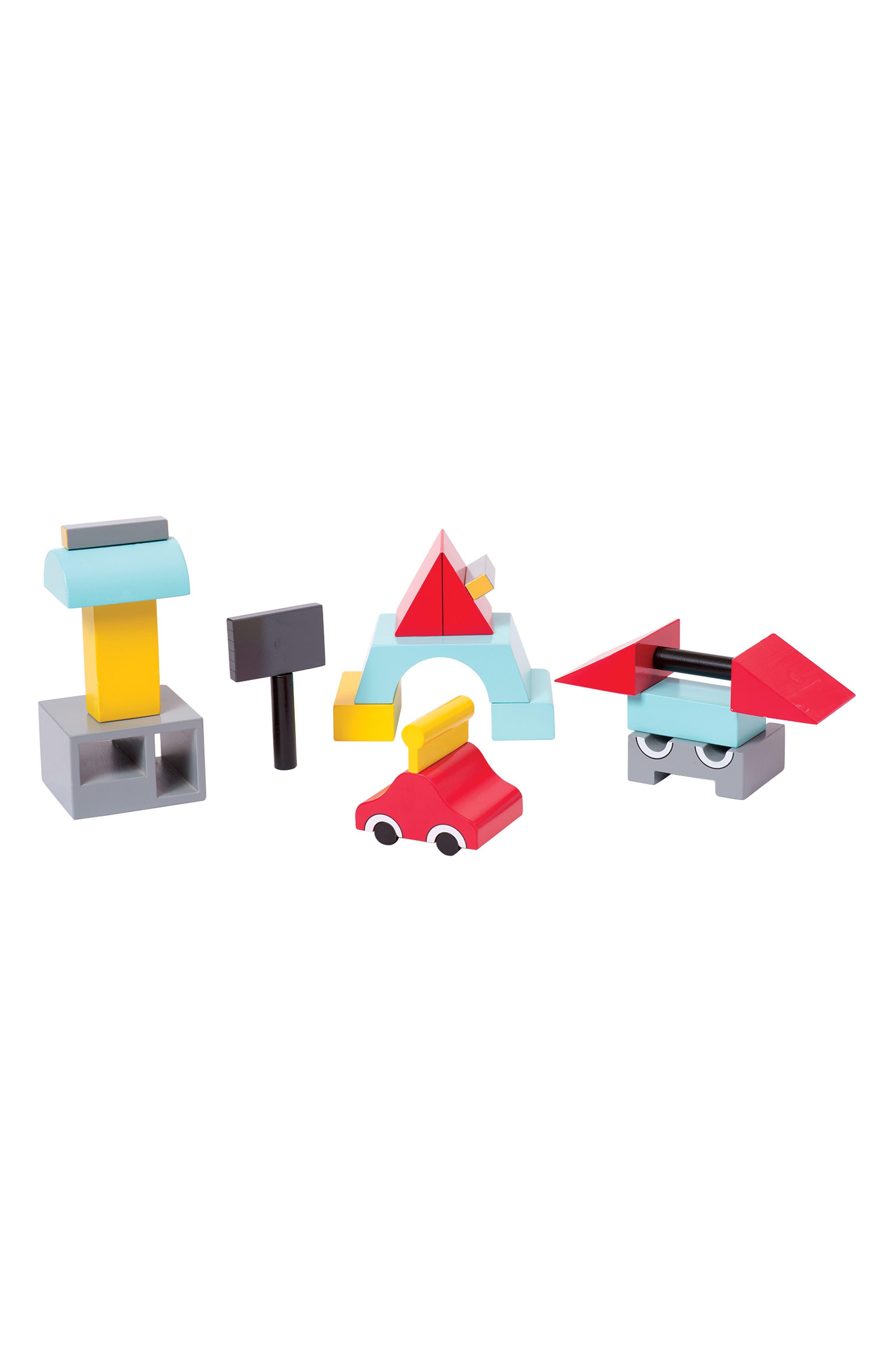 Beep the Robot Magentic Blocks,                             Alternate thumbnail 2, color,                             600