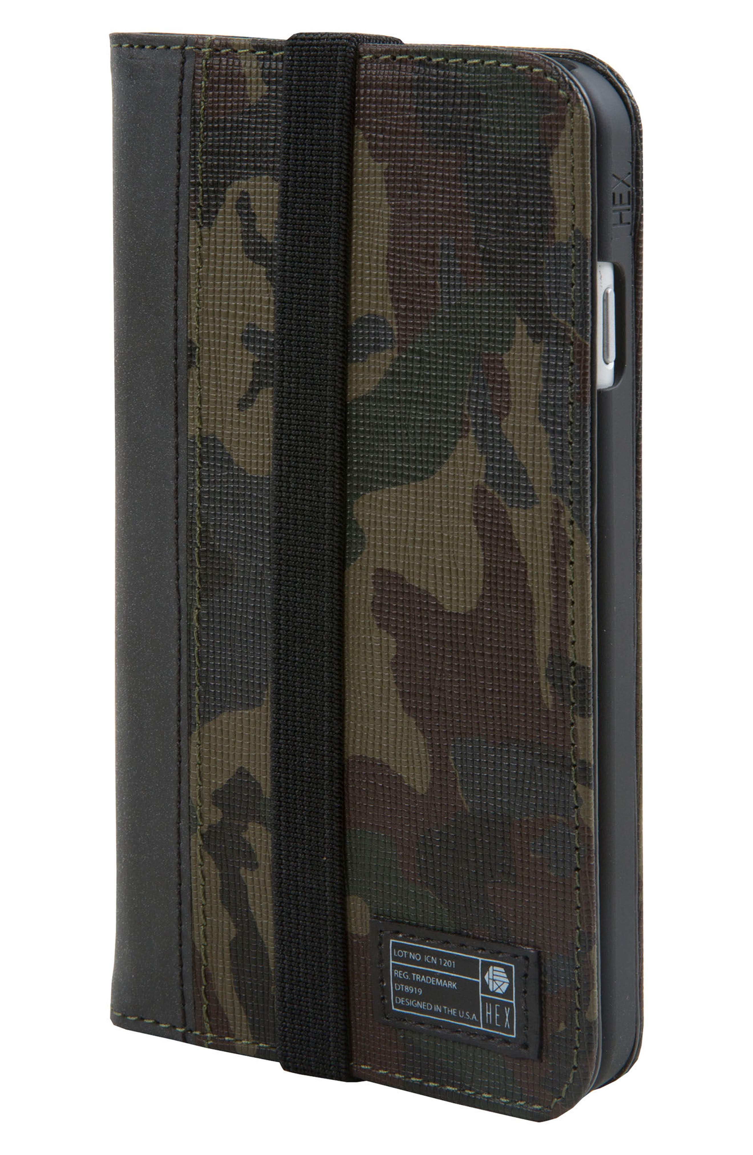 Icon iPhone 6/6s/7/8 Wallet Case,                             Main thumbnail 1, color,