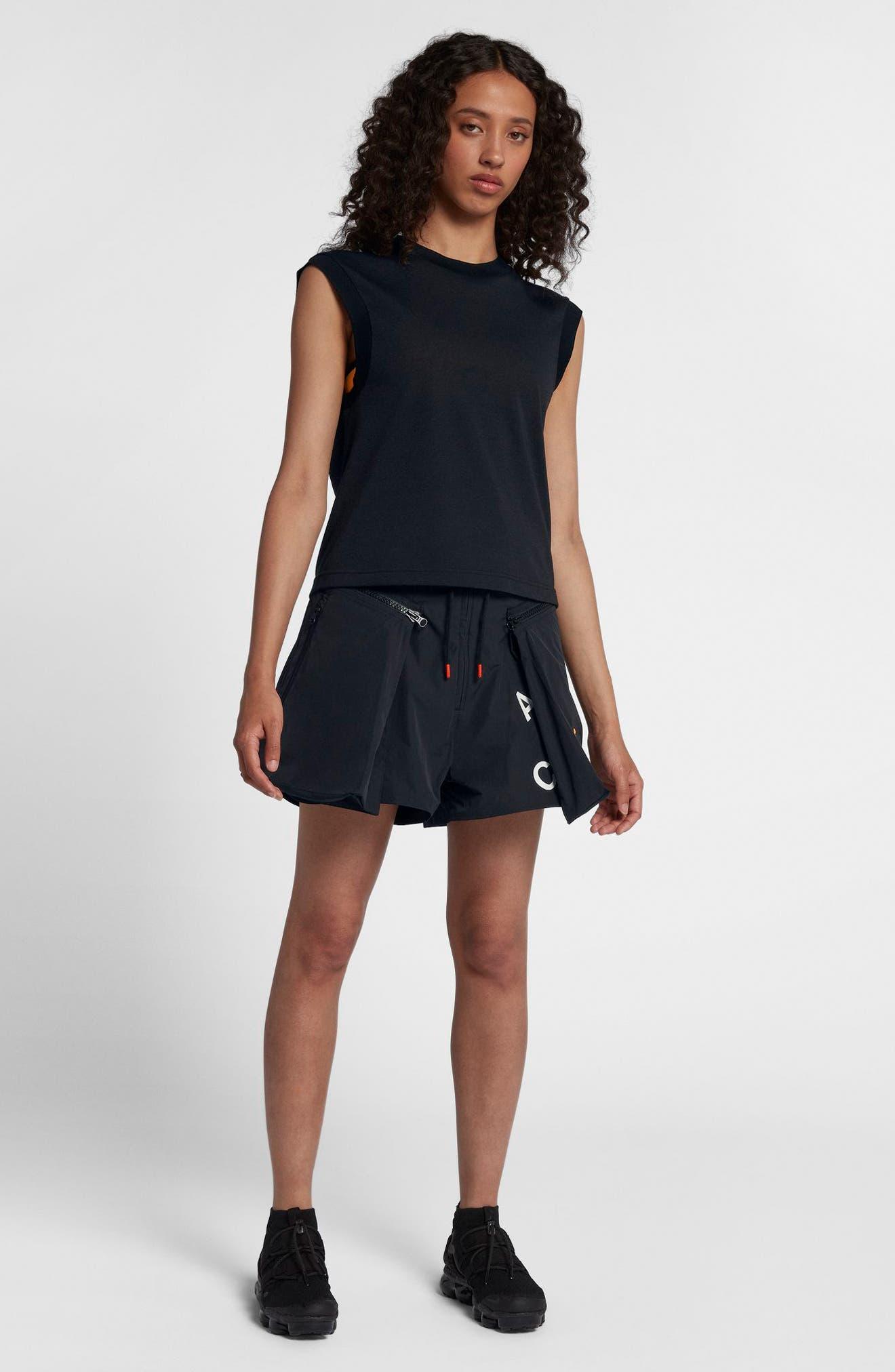 NIKE,                             NikeLab ACG Women's Sleeveless Top,                             Alternate thumbnail 7, color,                             010