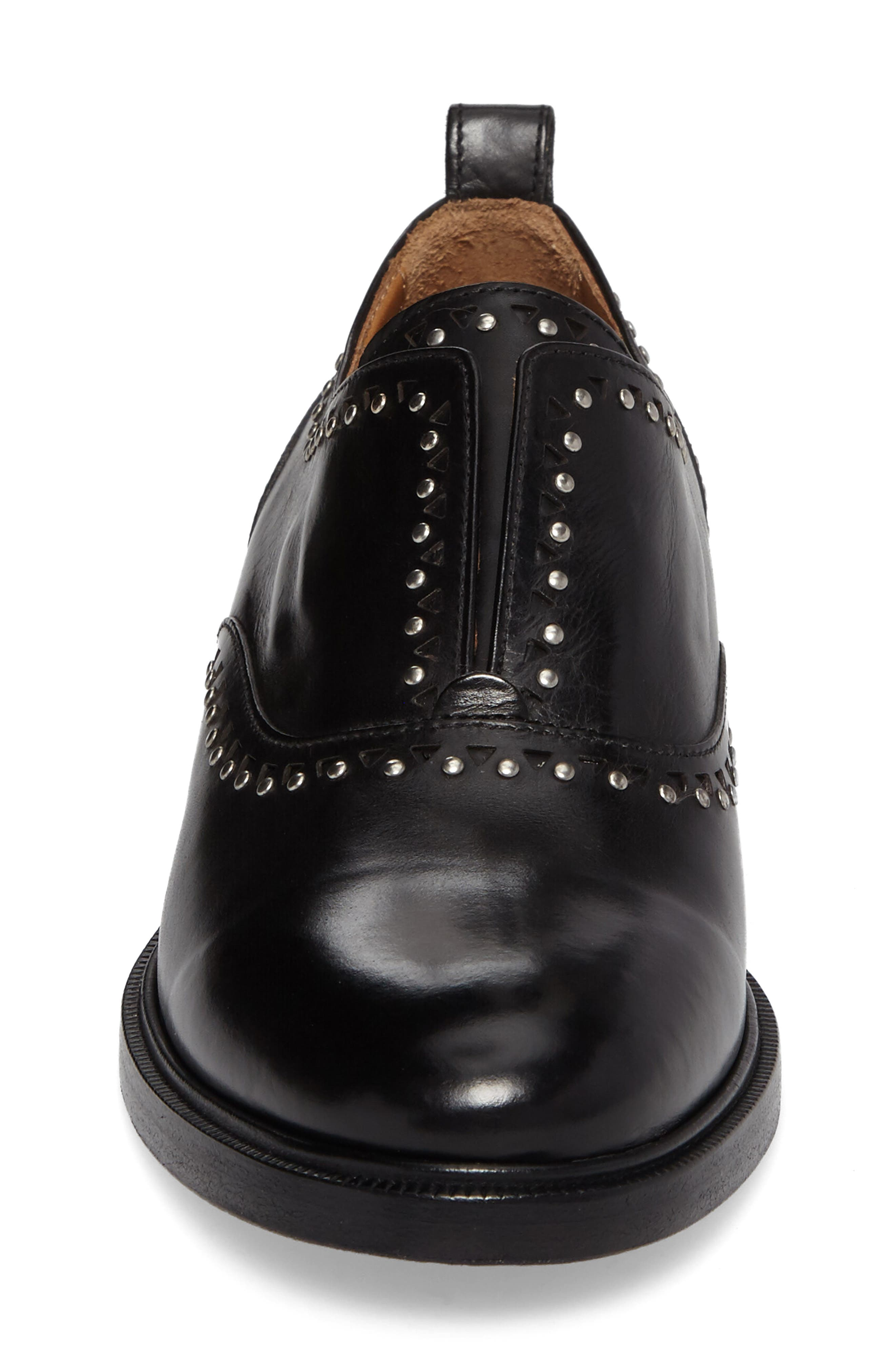 Annie Studded Oxford,                             Alternate thumbnail 4, color,                             001