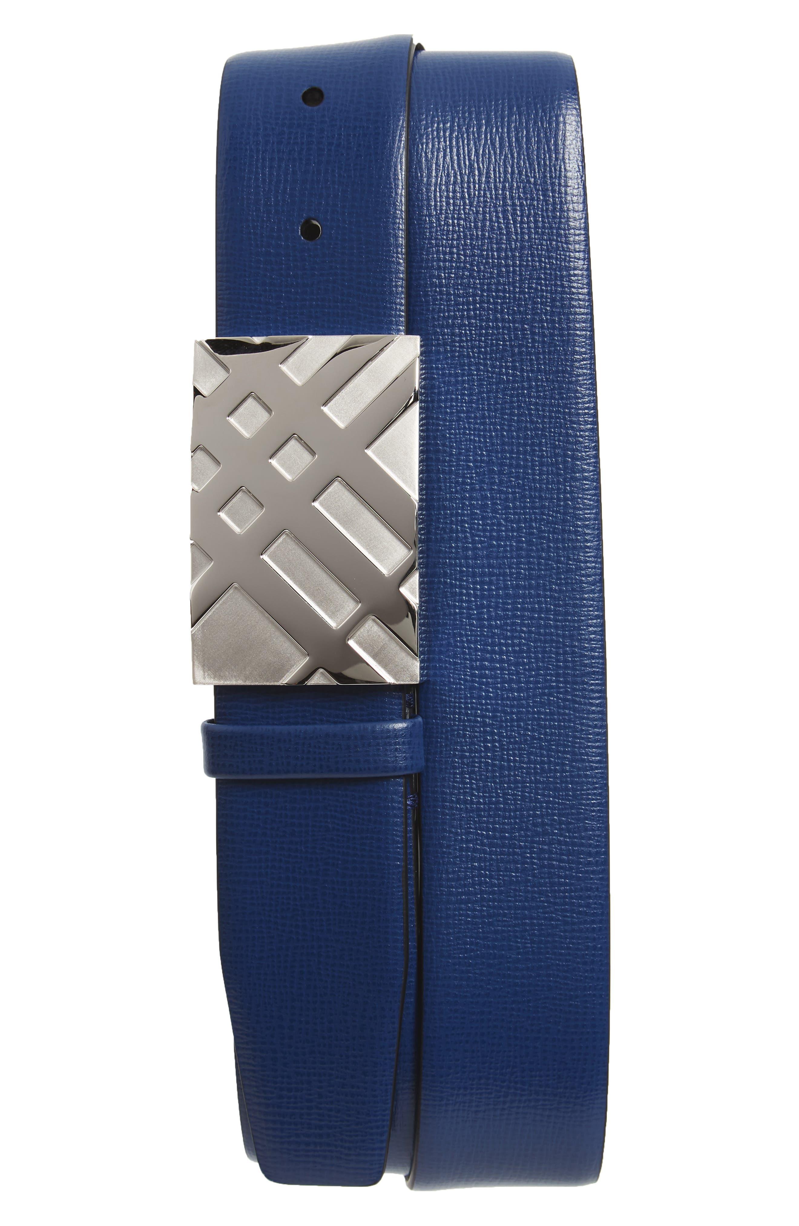 Dean Leather Belt,                             Main thumbnail 1, color,                             405