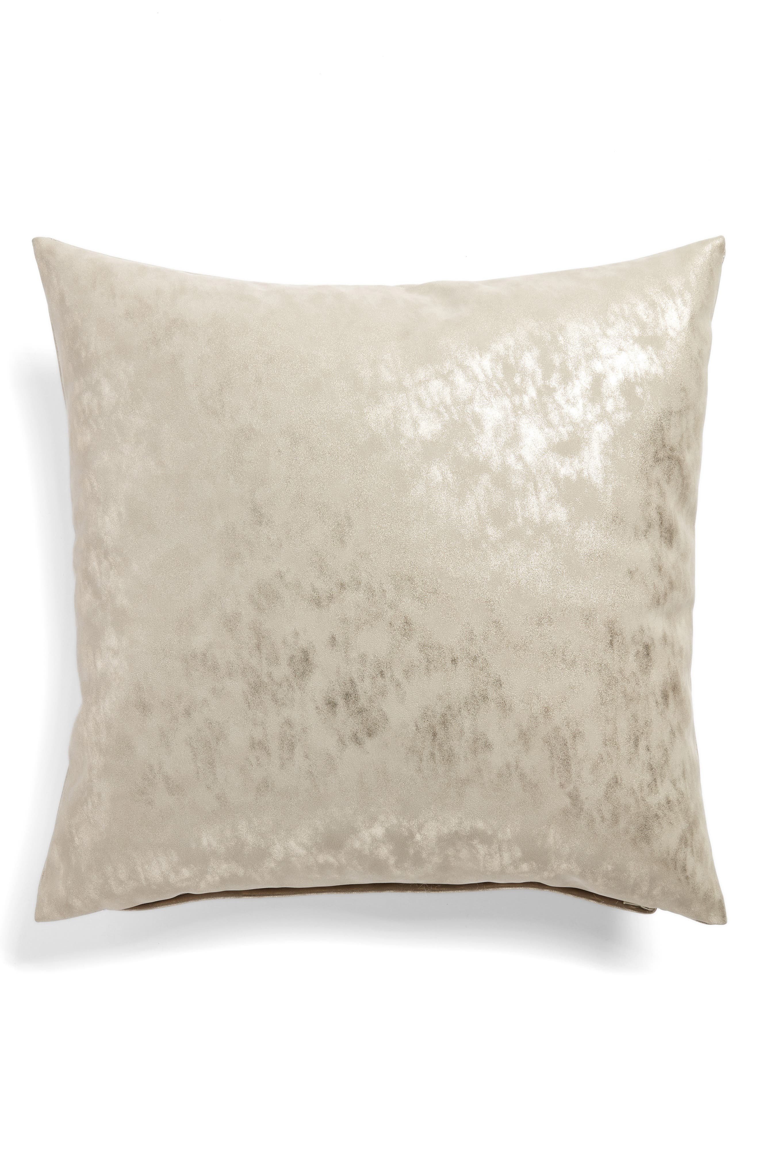 Shimmer Accent Pillow,                             Alternate thumbnail 2, color,                             GREY CHIME