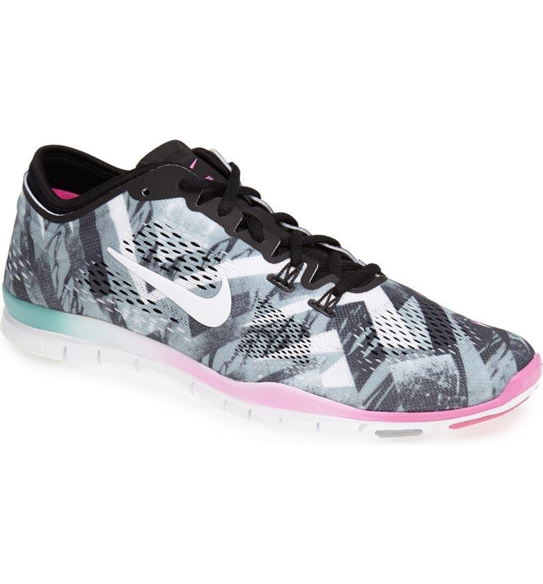 Nike  Free 5.0 TR Fit 4  Print Training Shoe (Women)  5e775b19a