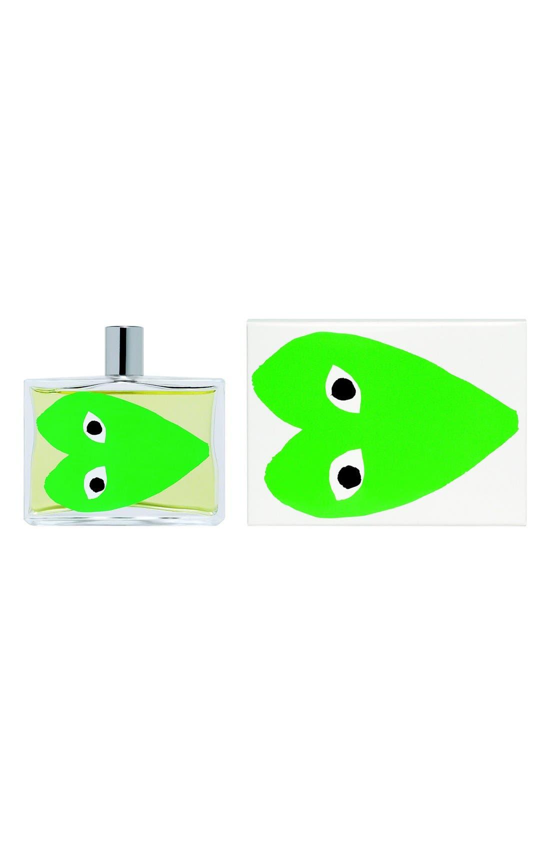 PLAY Green Eau de Parfum,                             Main thumbnail 1, color,                             GREEN