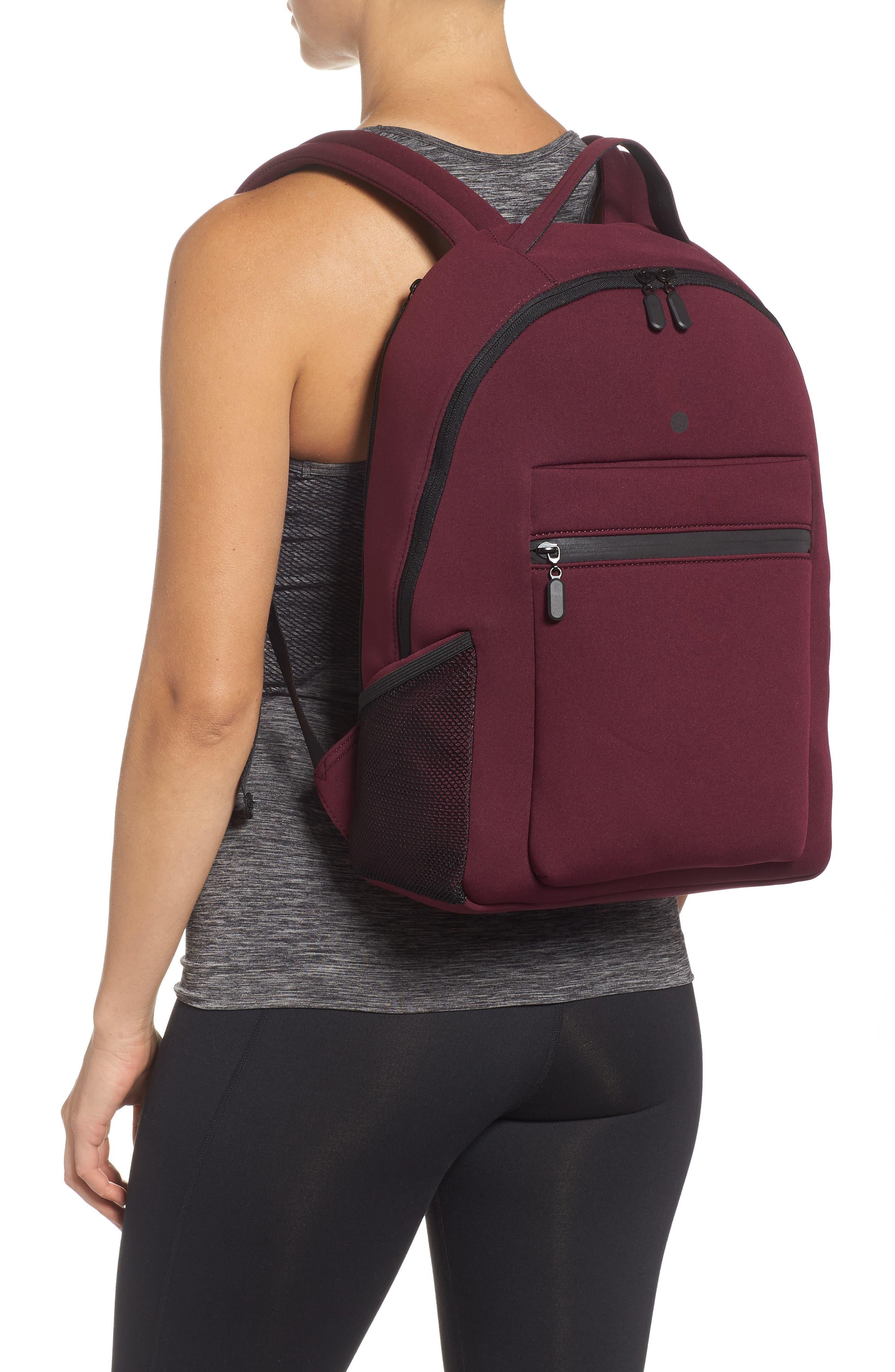Baseline Backpack,                             Alternate thumbnail 2, color,                             RED TANNIN
